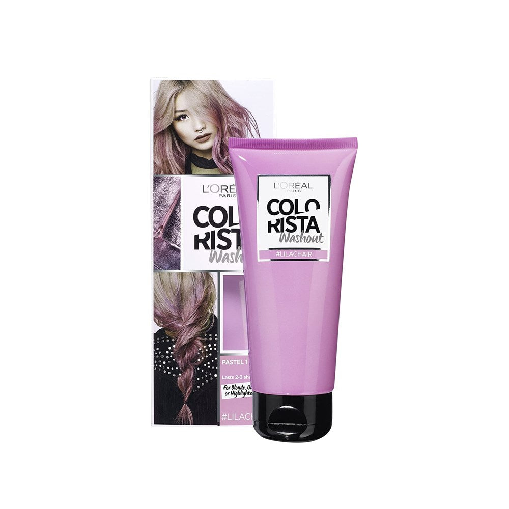 L'Oreal Colorista Washout Hair Colour Pastel #LilacHair 80ml