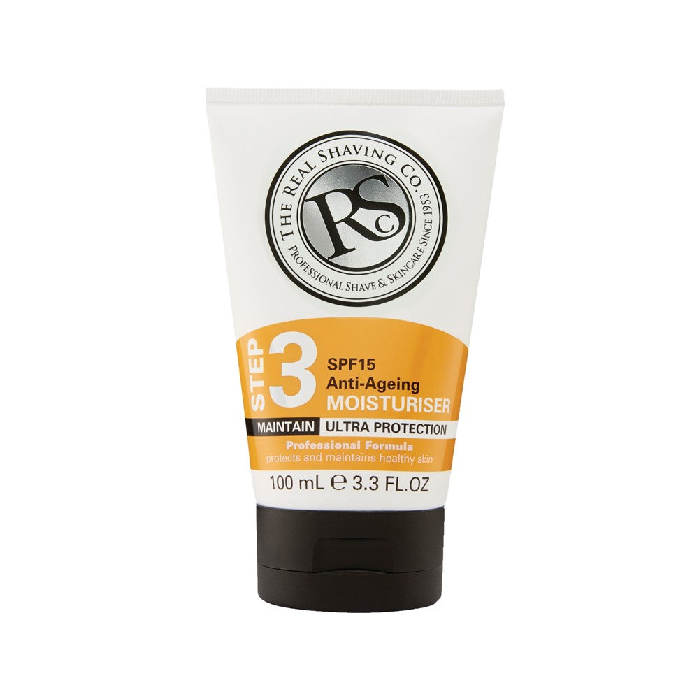 The Real Shaving Co SPF15 Anti-Ageing Moisturiser 100ml