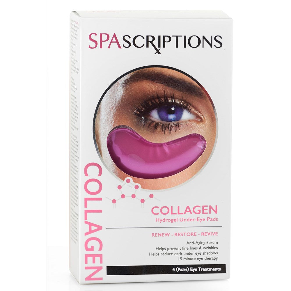 Spascriptions Collagen Hydrogel Under Eye Pad 4s