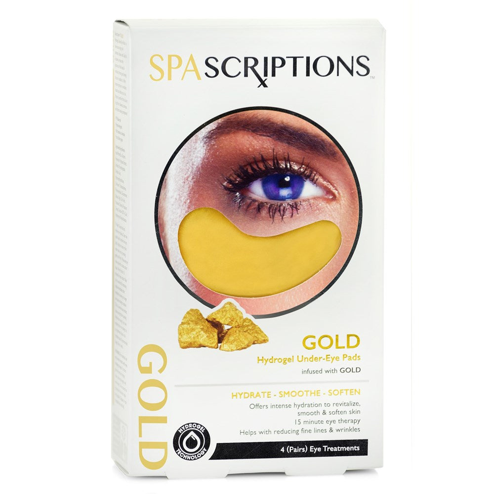 Spascriptions Gold Hydrogel Under Eye Pad 4s
