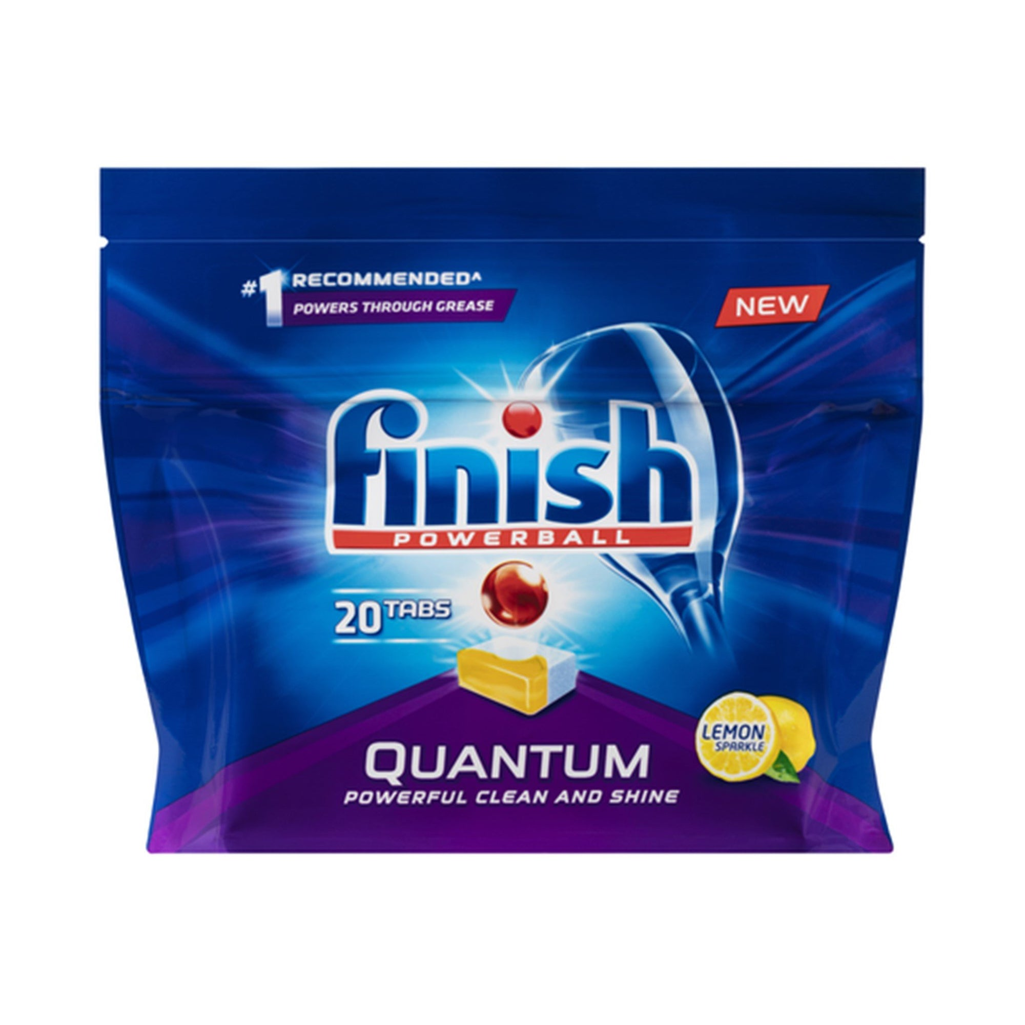 Finish Quantum Lemon Dishwasher Tablets 20Pk