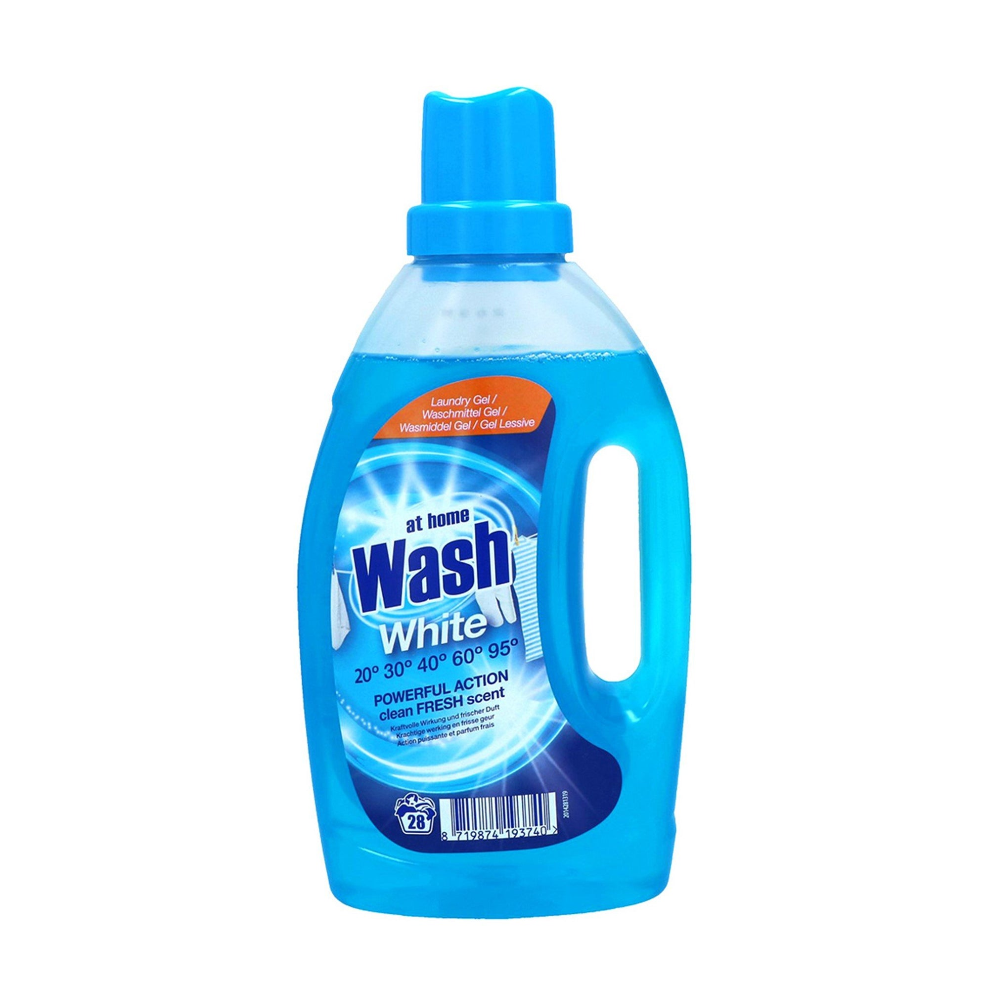 At Home Washing Gel for Whites 1L