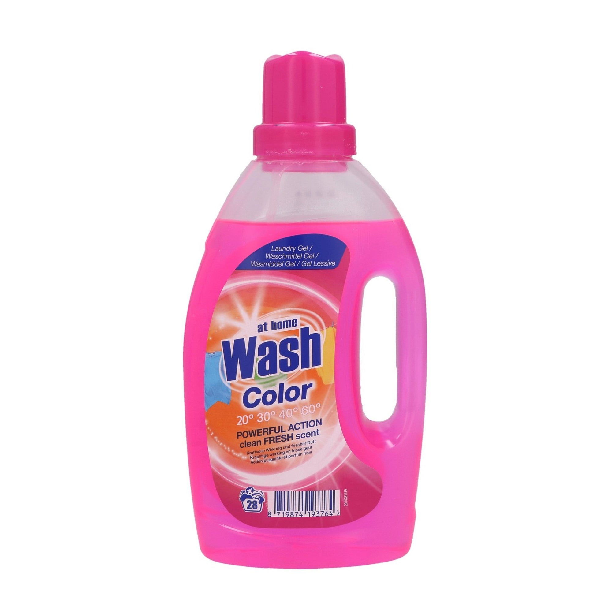 At Home Washing Gel for Colours 1L