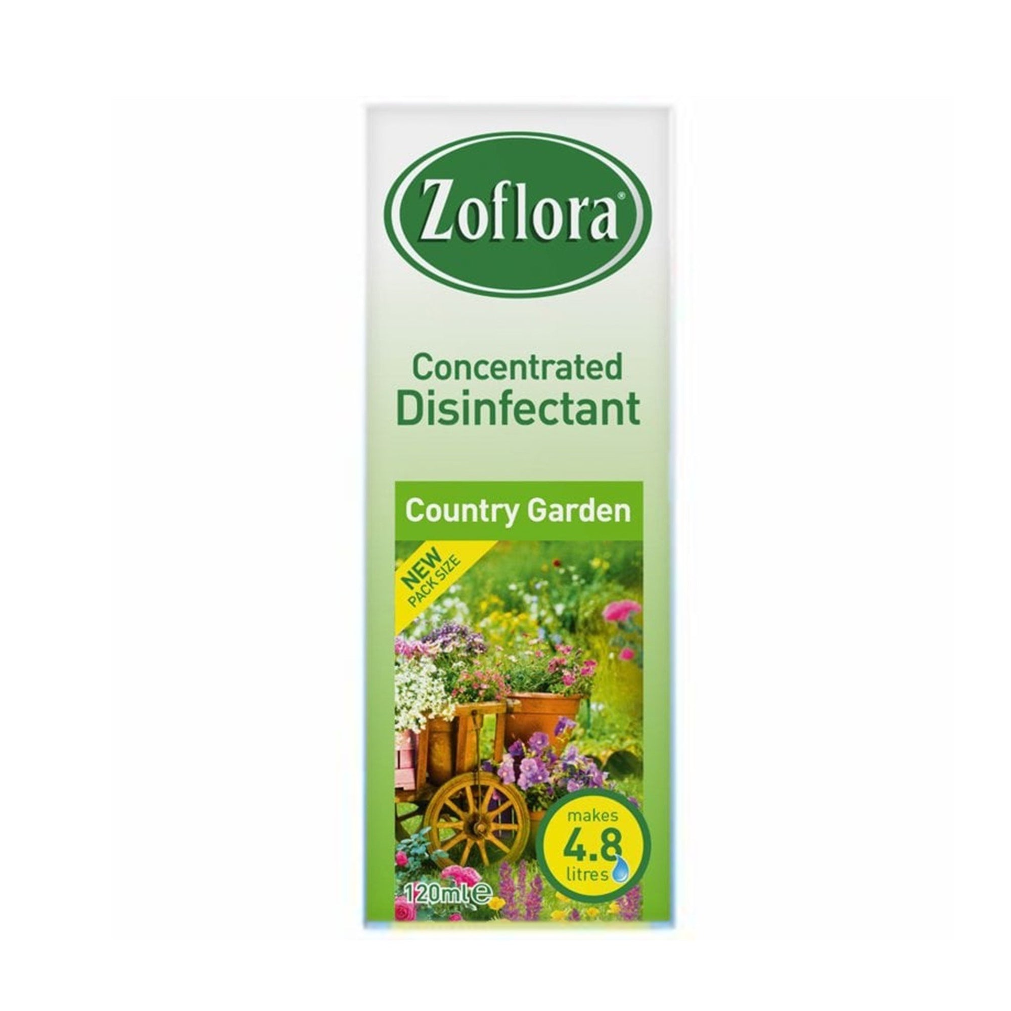 Zoflora Concentrated Disinfectant Country Garden 120ml