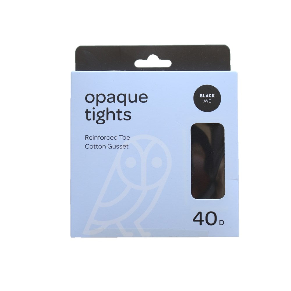 Pricewise Opaque Tights Average Black 40D