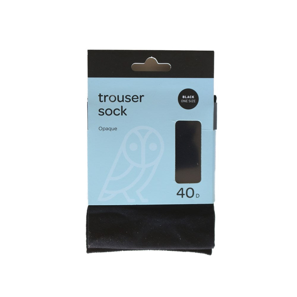 Pricewise Trouser Sock One Size Black 40D