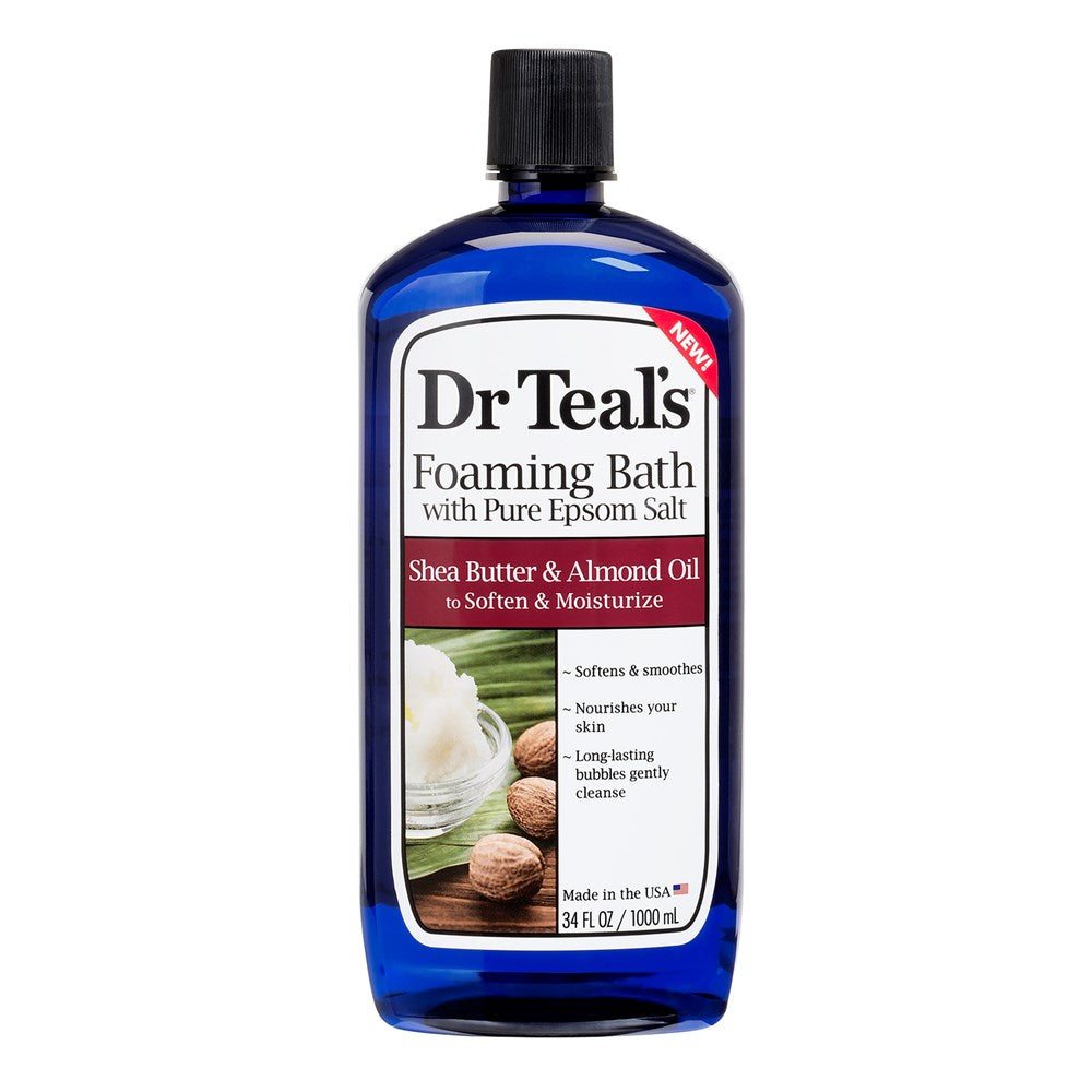 Dr Teal's Shea Butter & Almond Foaming Bath 1L