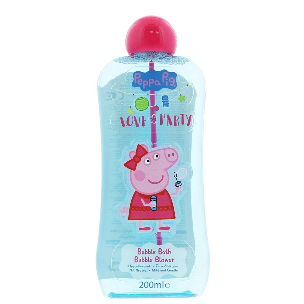 Peppa Pig 200Ml Bath Bubble Blower