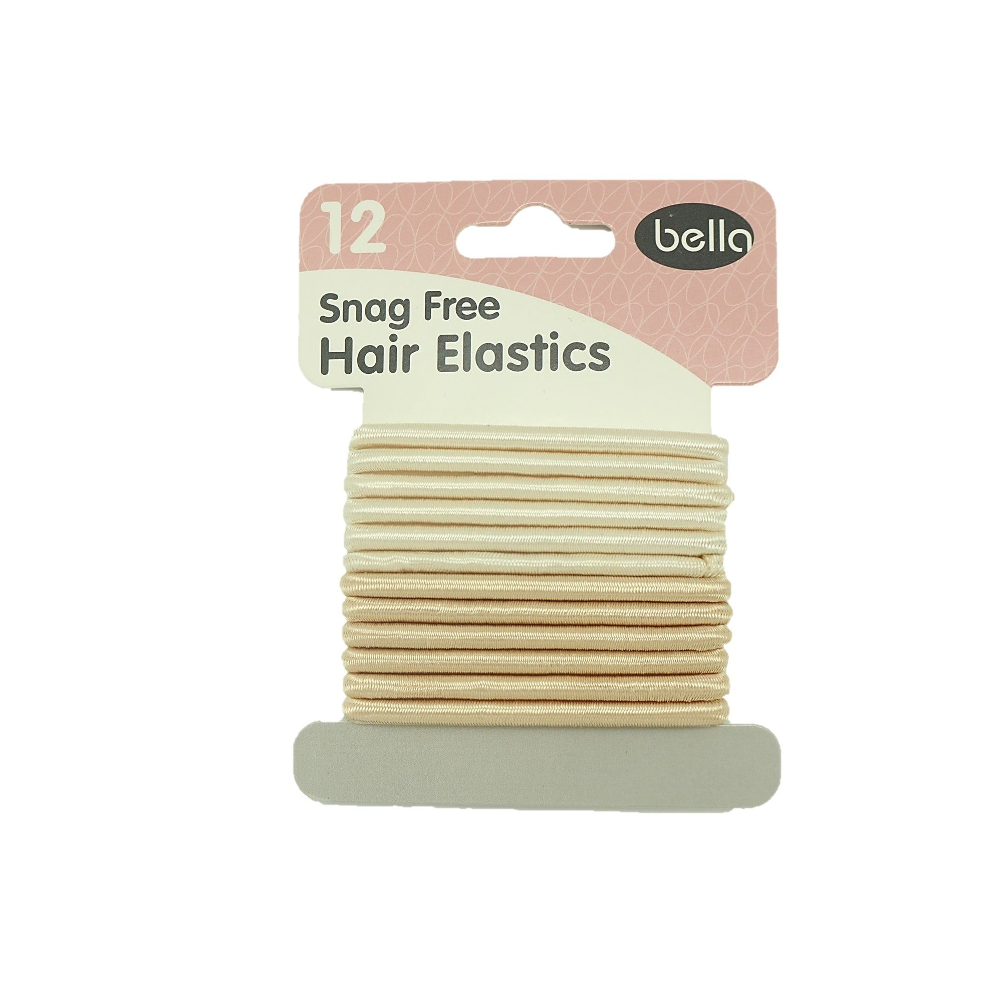 Bella Hair Elastics Blonde 12pk