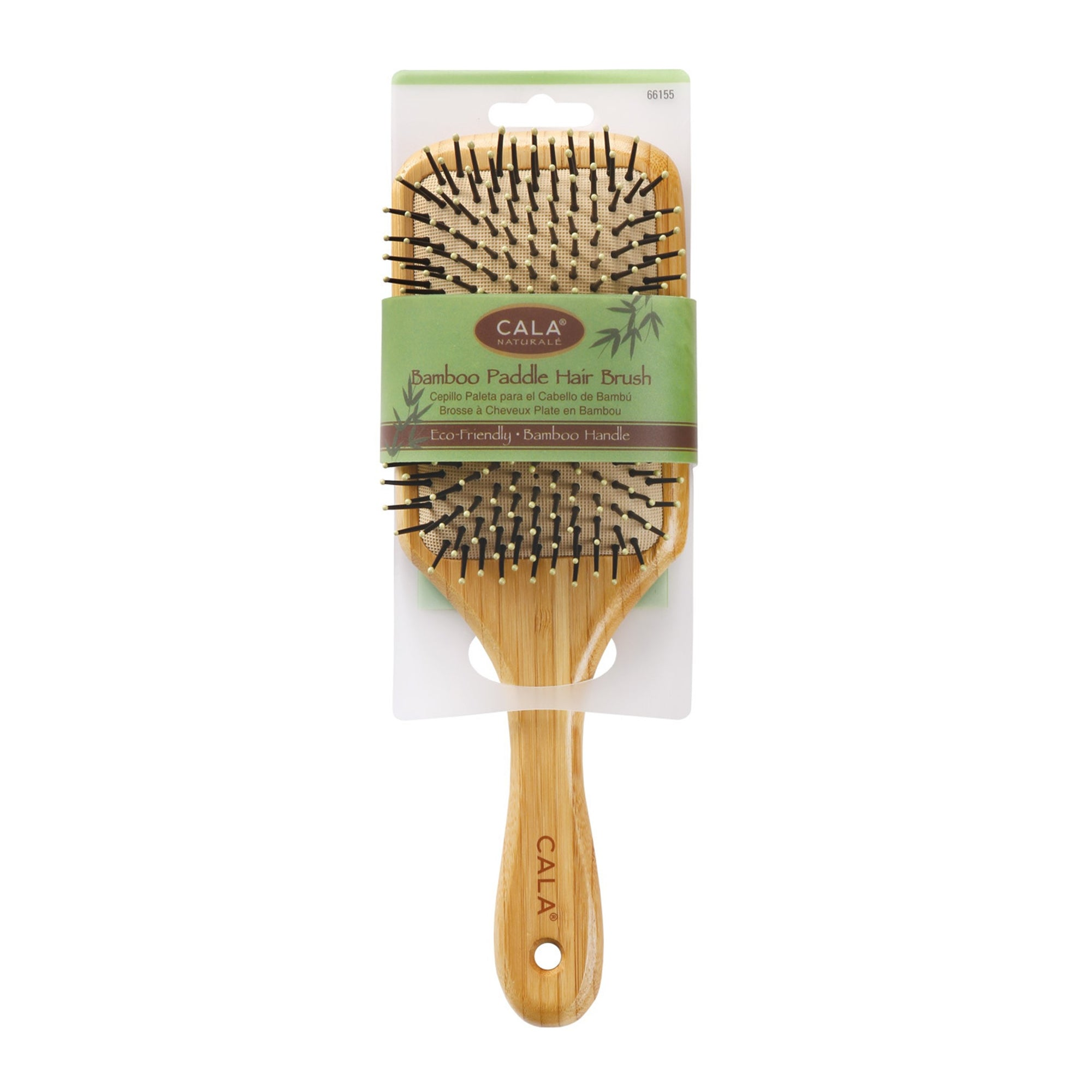 Cala Bamboo Paddle Hair Brush Large