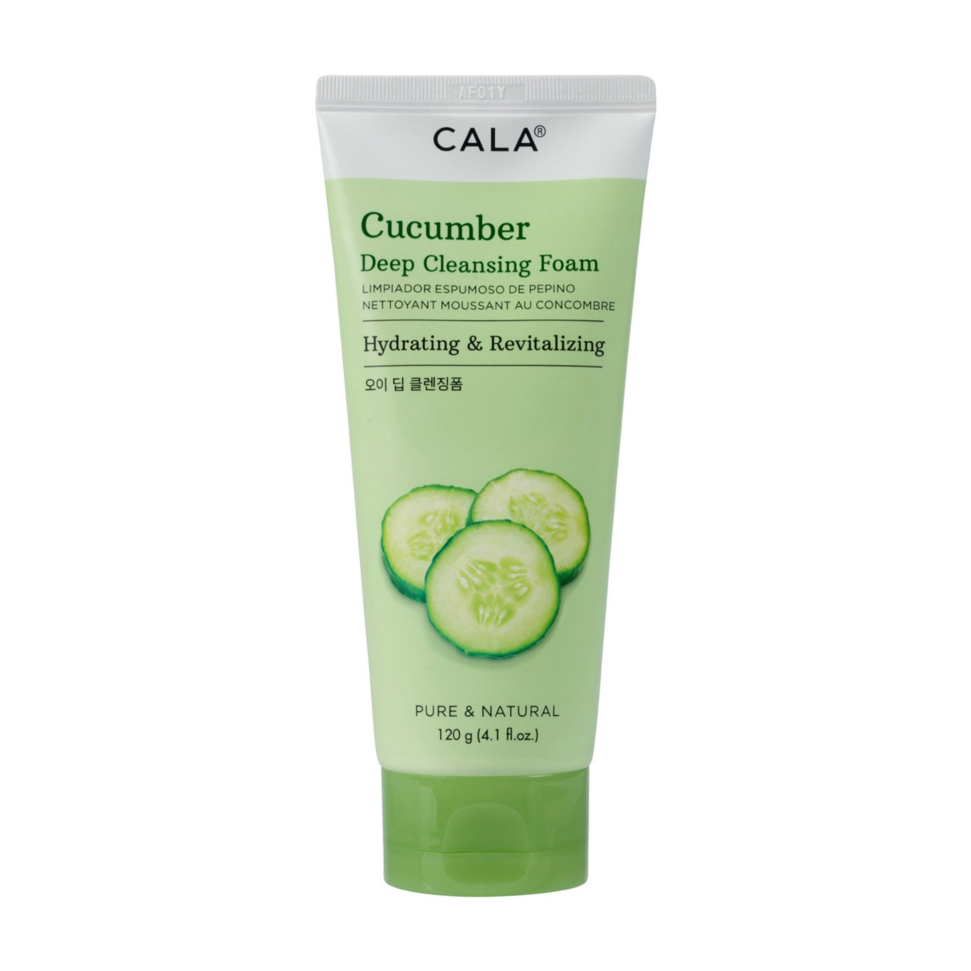 Cala Deep Cleansing Foam Cucumber 120G