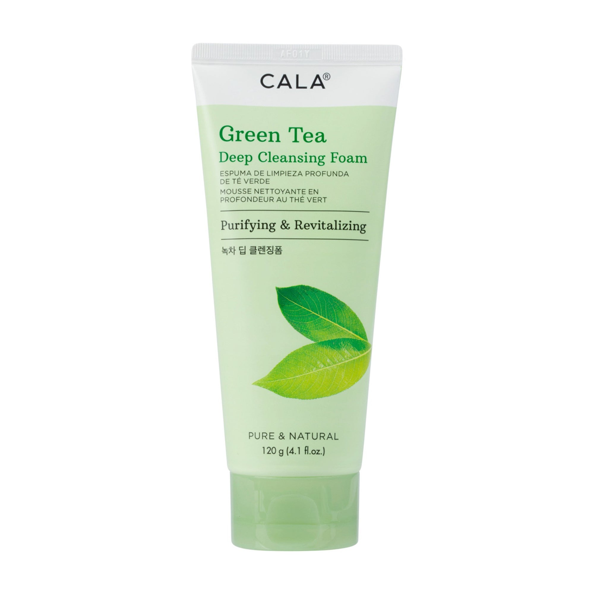 Cala Deep Cleansing Foam Green Tea 120G