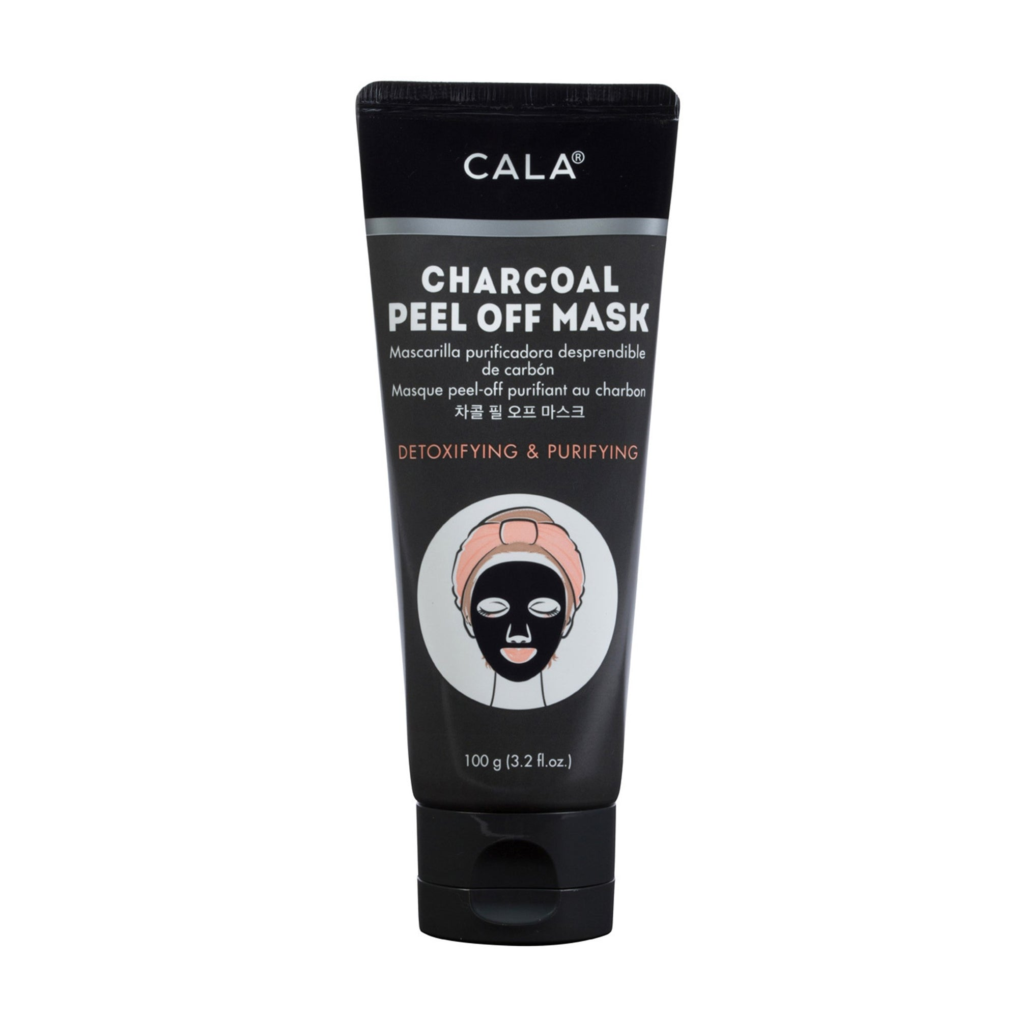 Cala Peel Off Mask Charcoal 100G