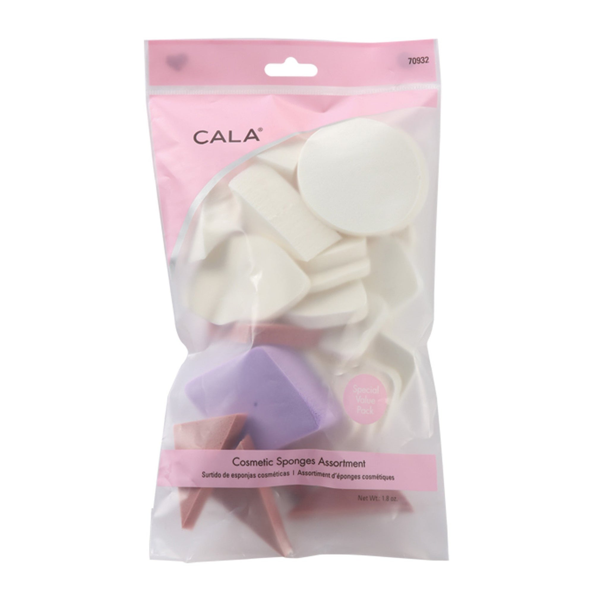 Cala Cosmetic Sponges Assortment