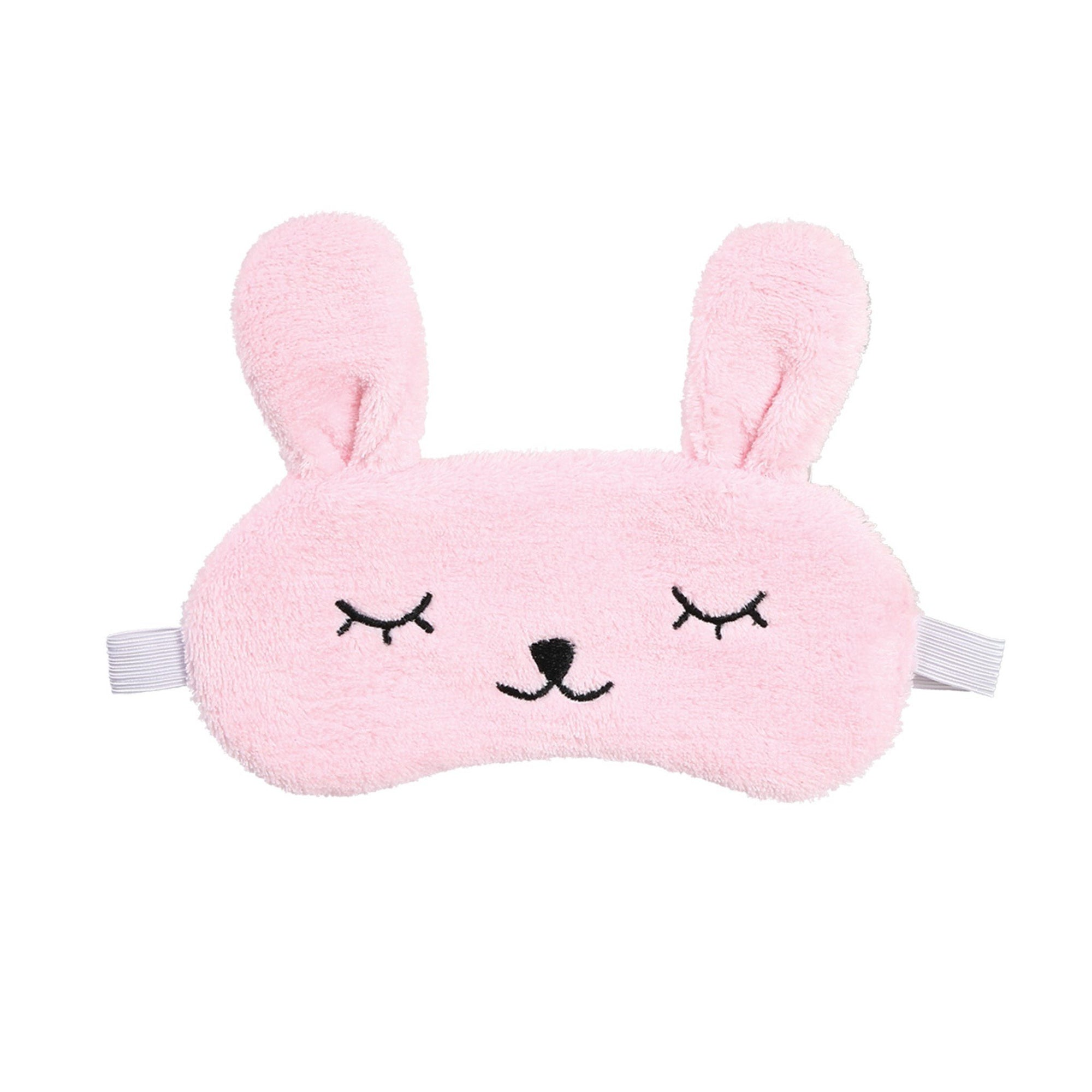 Cala Sleep Mask Pink Bunny