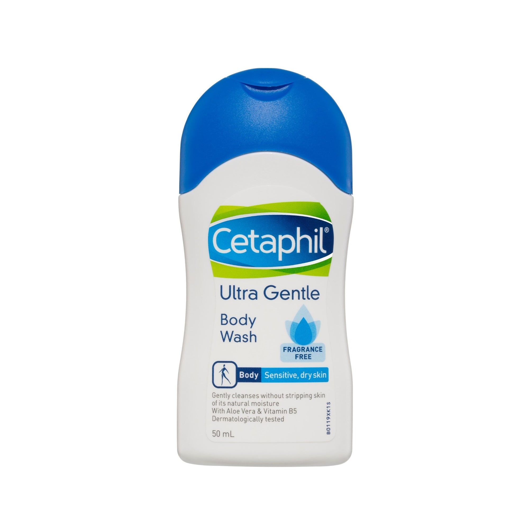 Cetaphil Body Wash Ultra Gentle Fragrance Free 50Ml