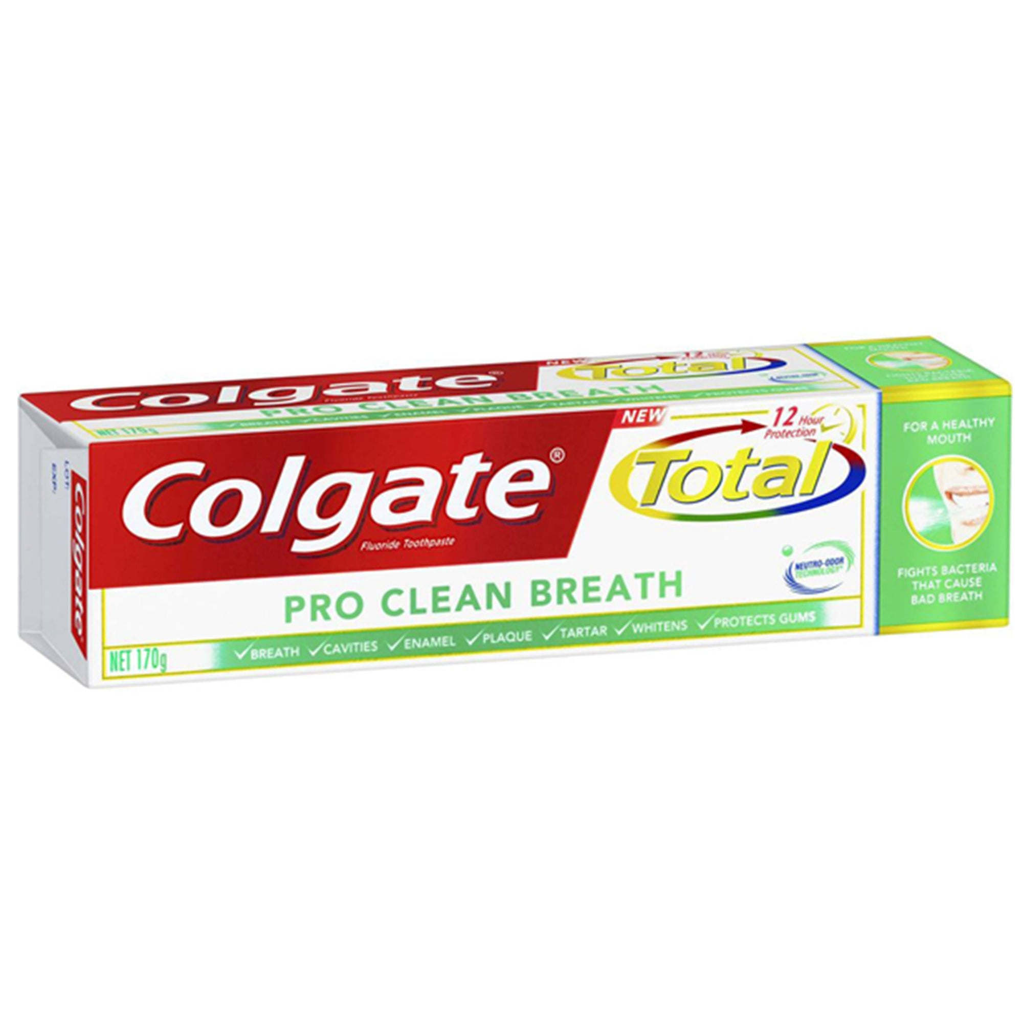 Colgate Total Toothpaste Pro Clean Breath 170G