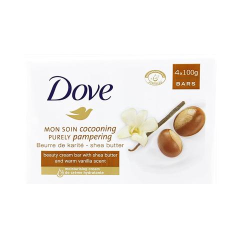 Dove Soap Shea Butter 4 x 100g