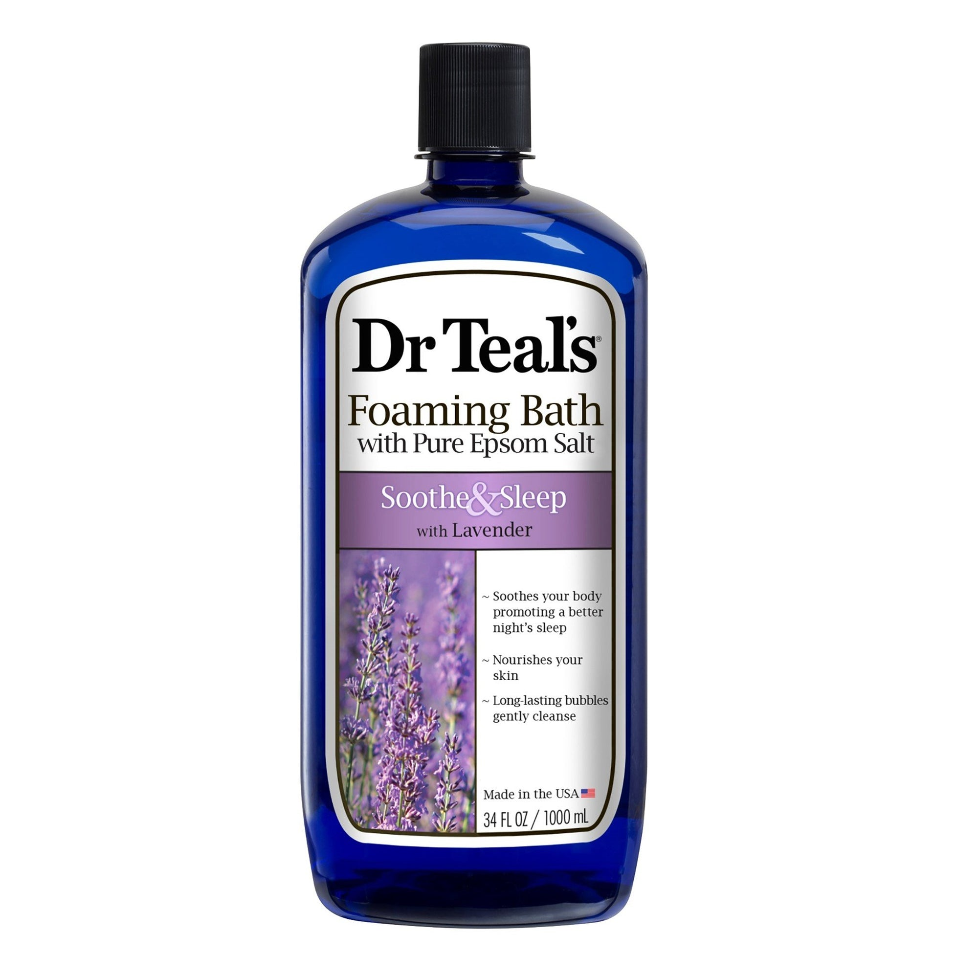 Dr Teal's Soothe & Sleep with Lavender Foaming Bath 1L