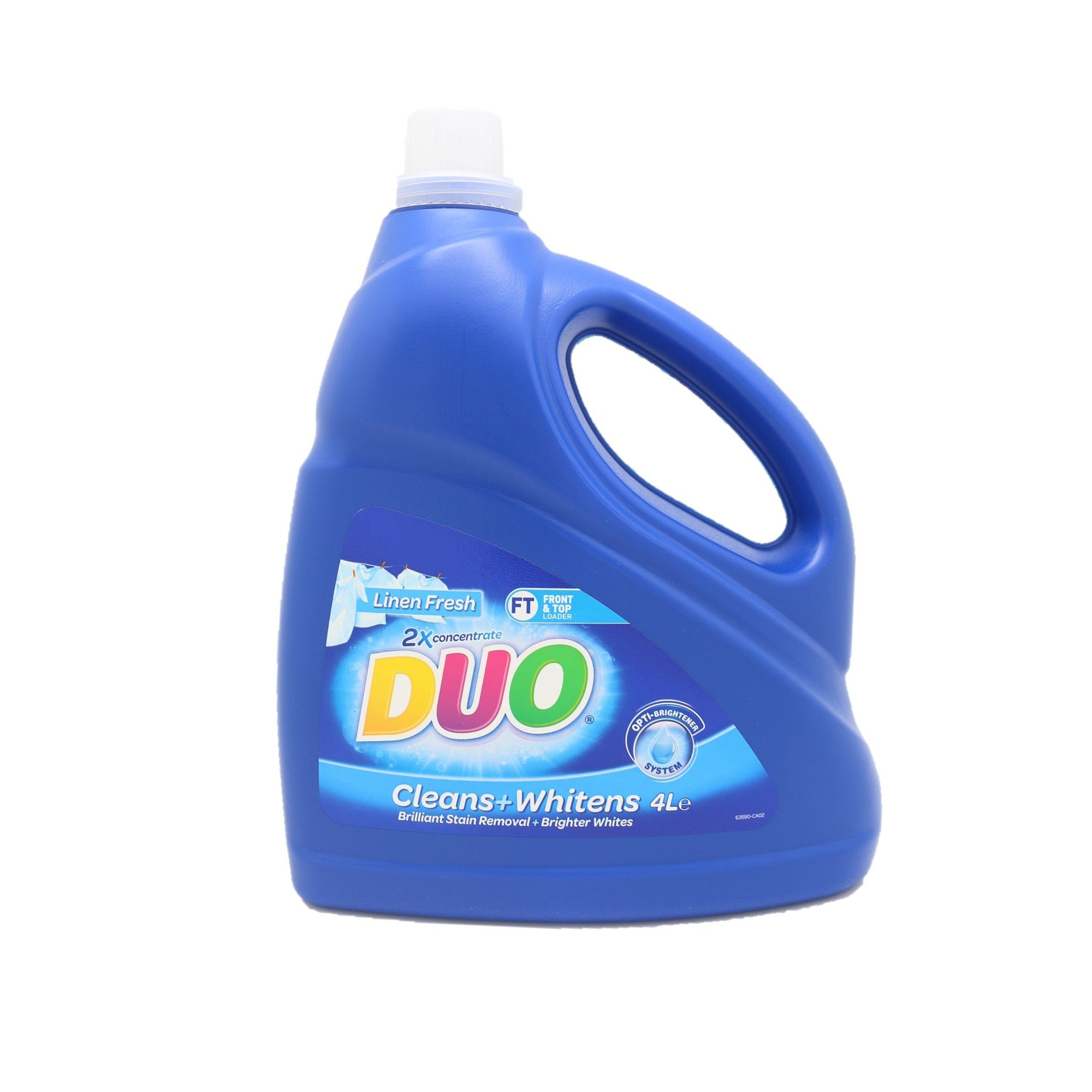 Duo Laundry Liquid 2X Concentrate 4L