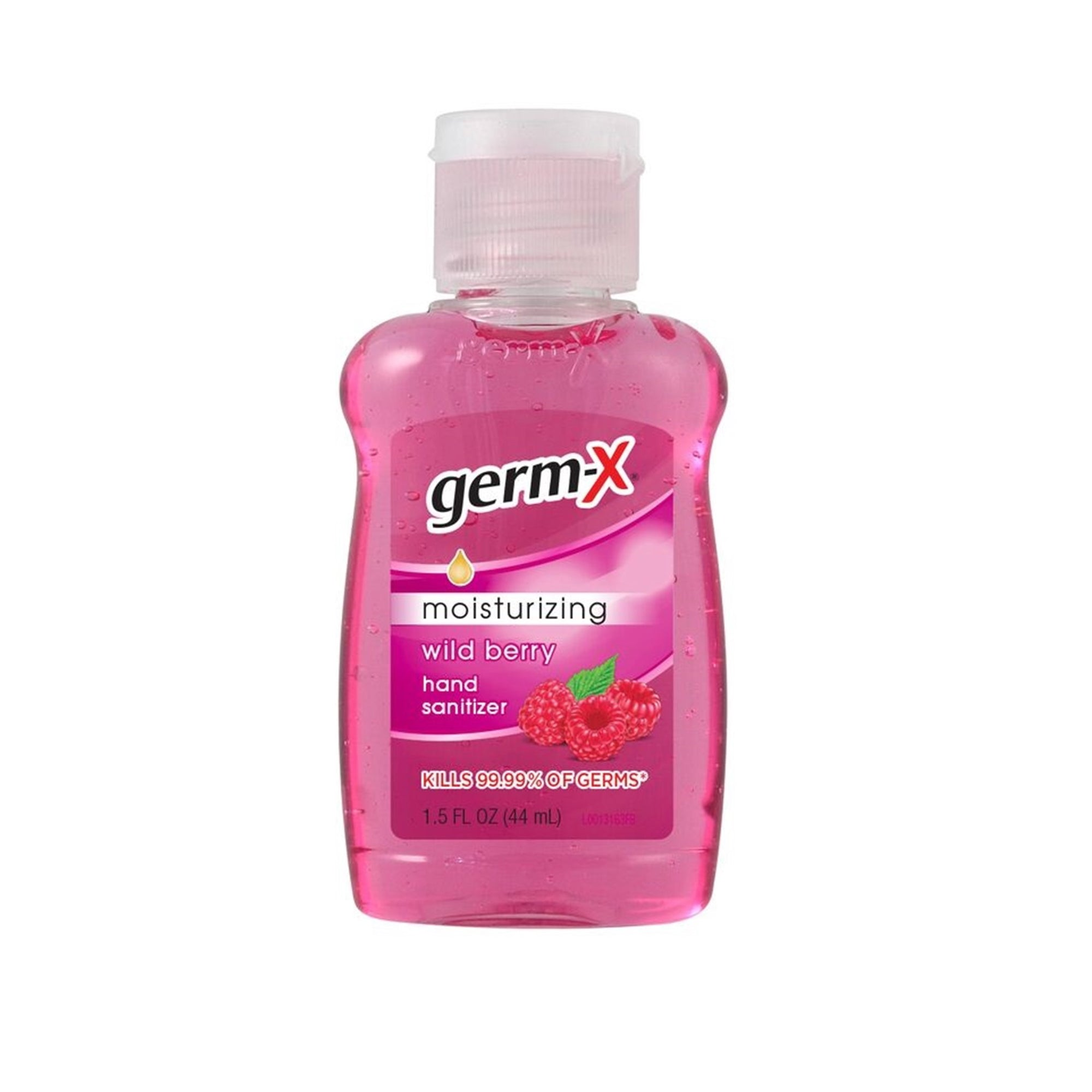 Germ-X Hand Sanitiser Wild Berry 44Ml