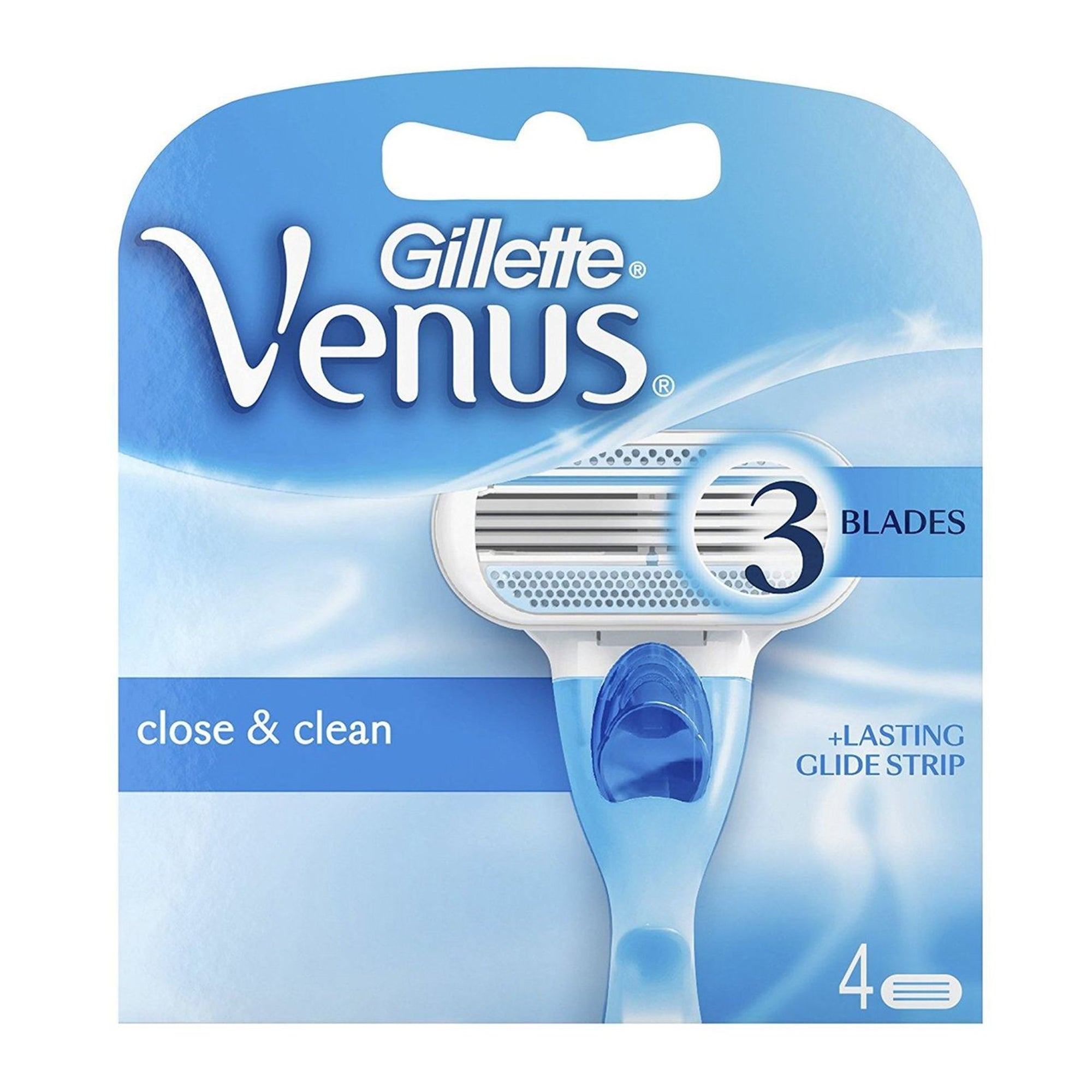 Gillette Venus Razor Cartridges 4Pk