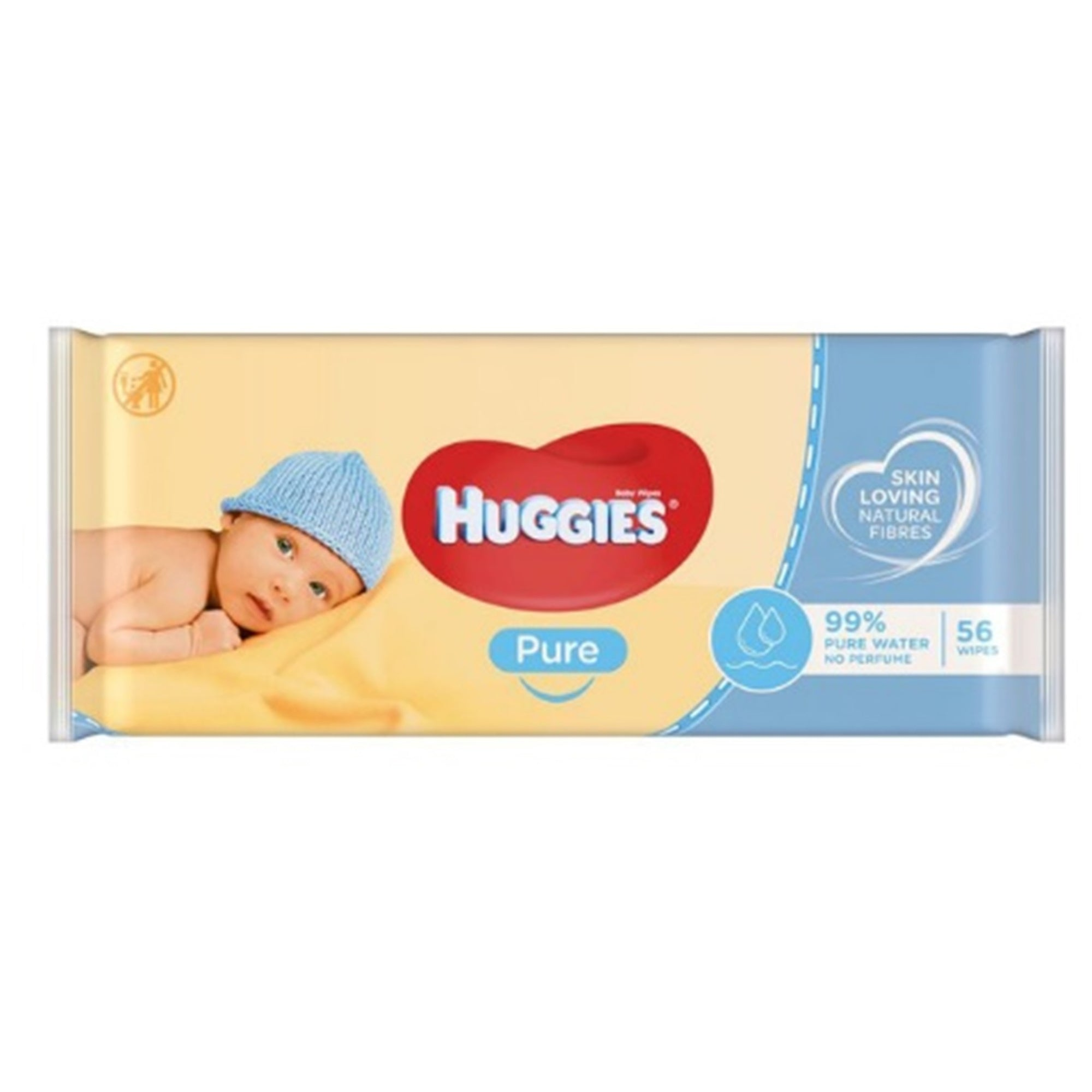 Huggies Baby Wipes Pure 56Pk