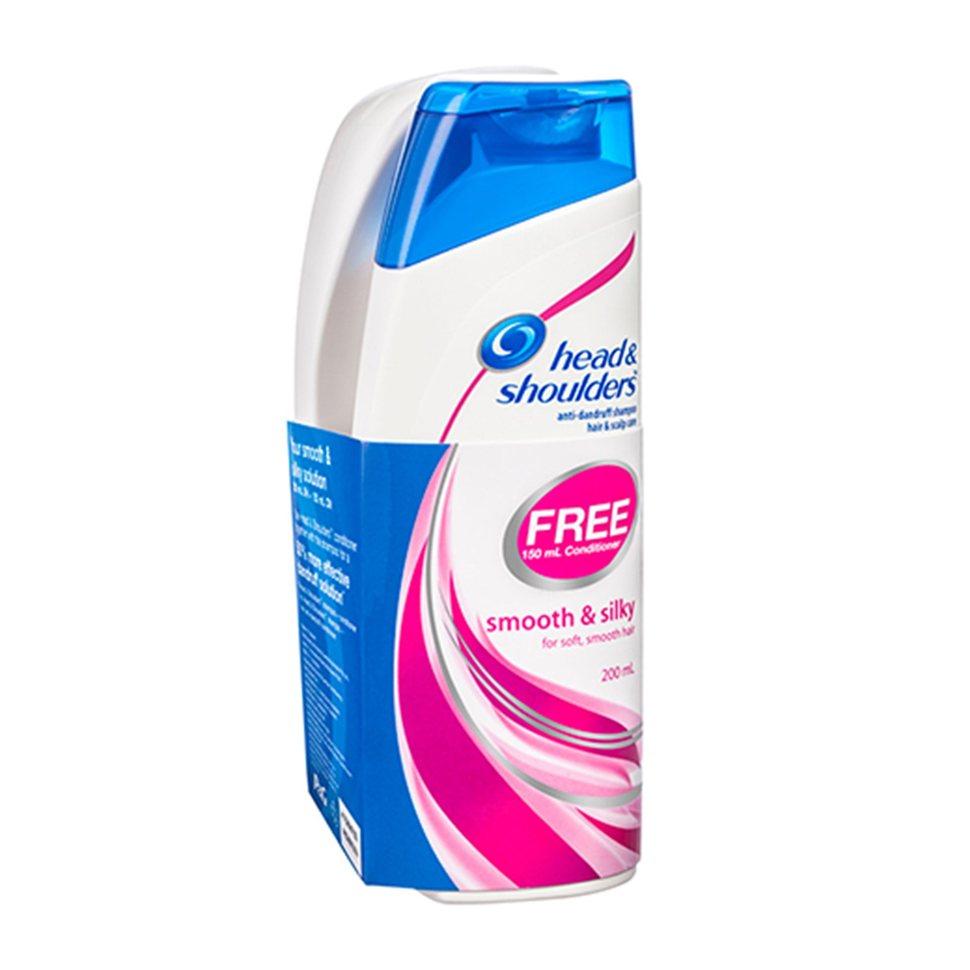 Head & Shoulders Shampoo 200Ml & Conditioner 150Ml Smooth Silky 2Pk