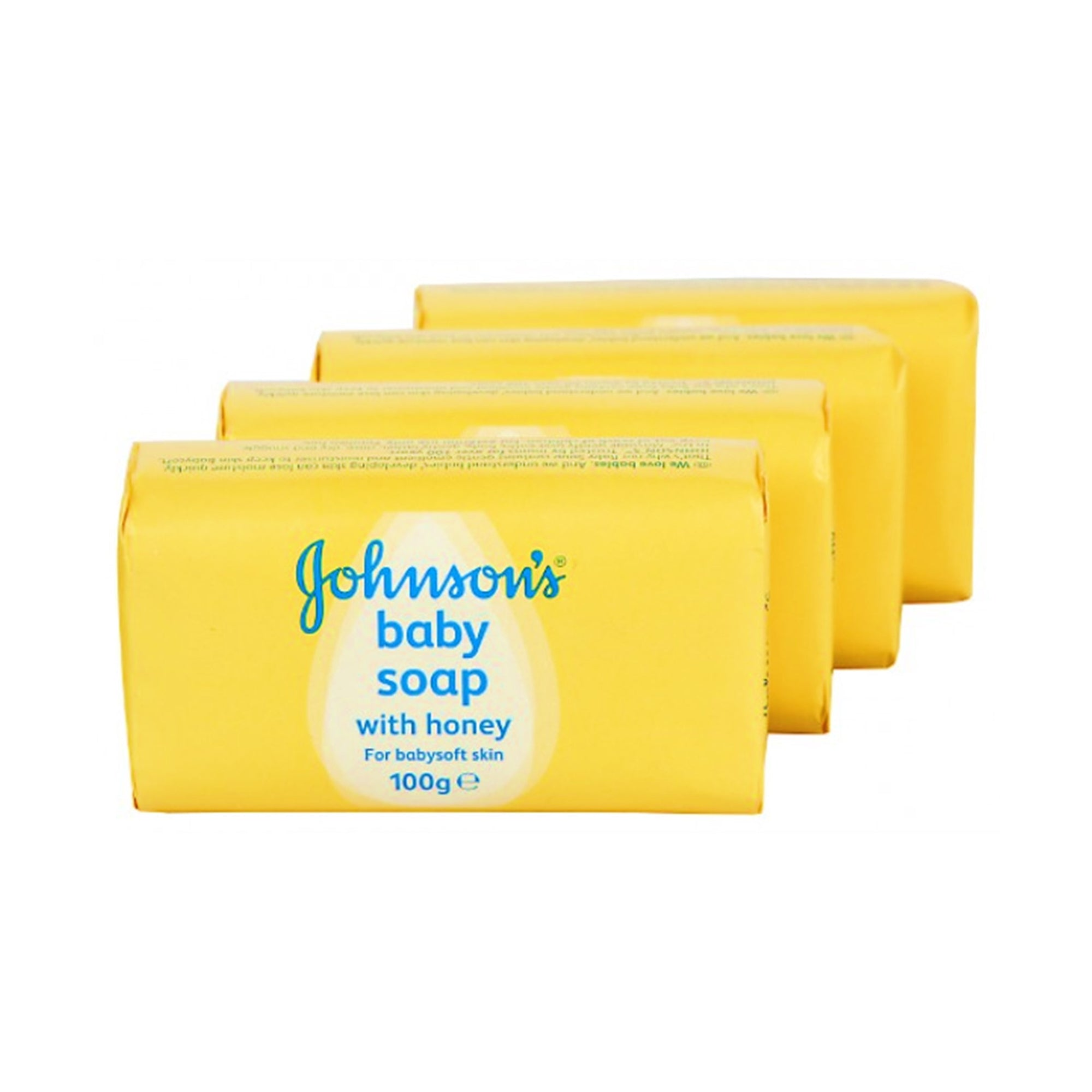 Johnsons Baby Soap Honey 4X 100G