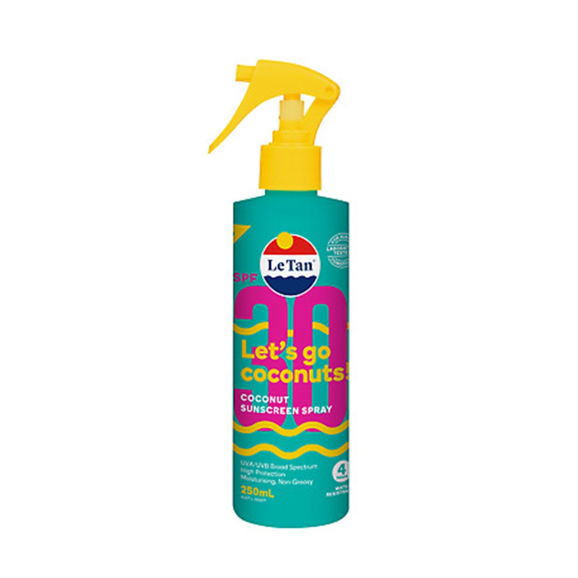 Le Tan Sunscreen Lets Go Coco 250ml