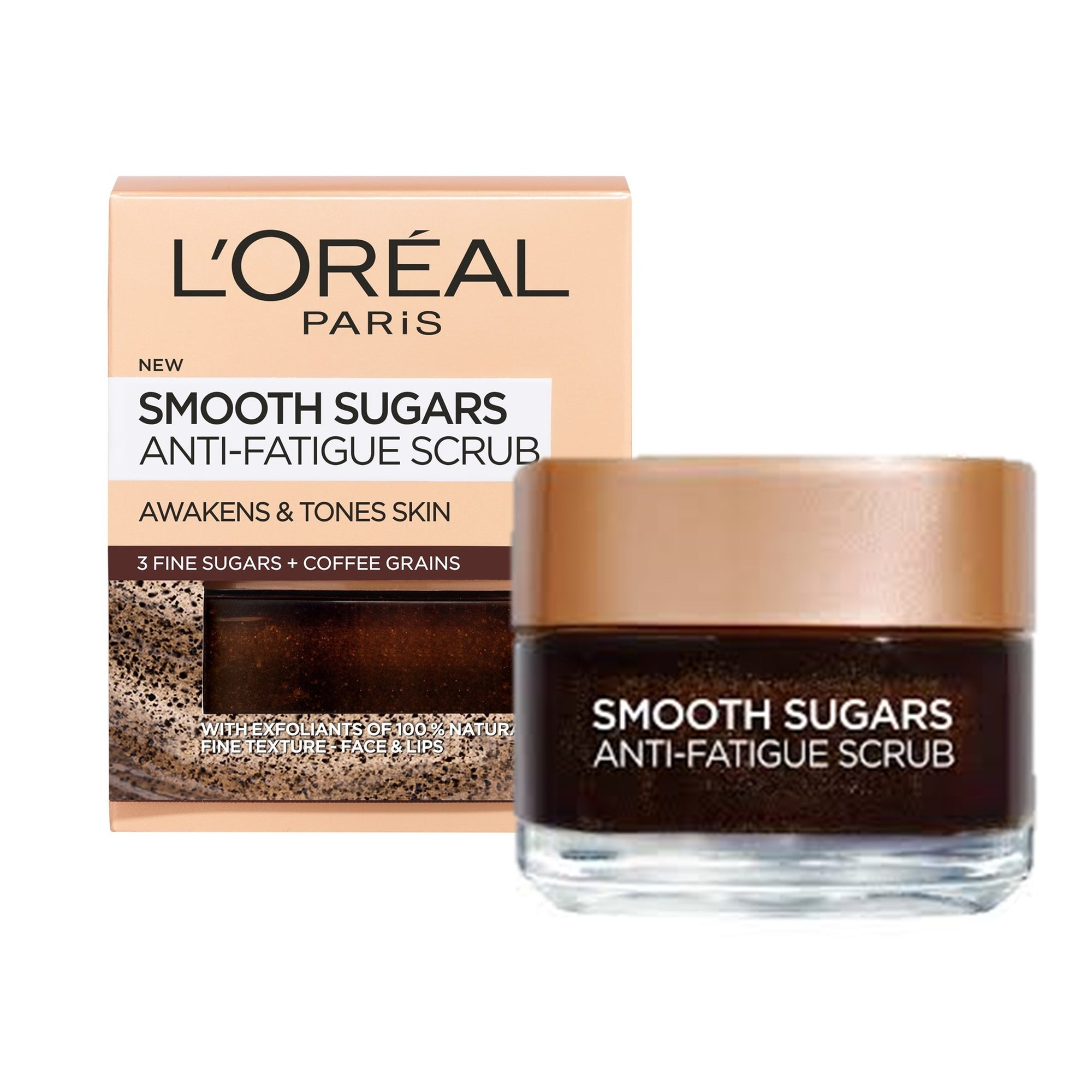 L'Oreal Anti Fatigue Scrub 50Ml