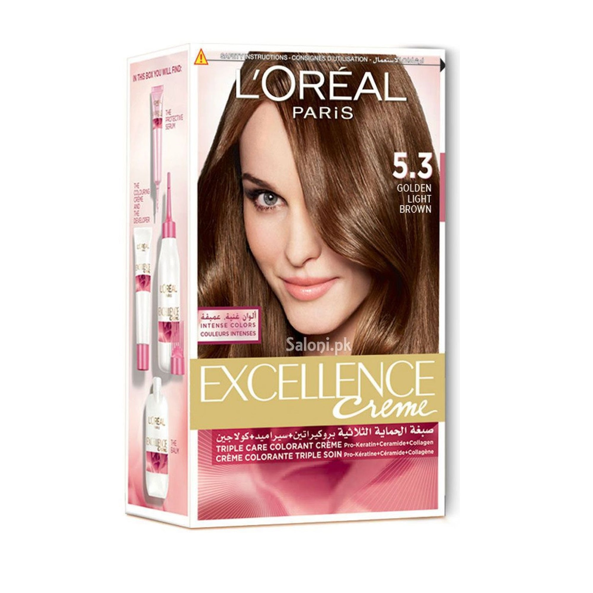 L'Oreal Hair Color #5.3 Golden Brown