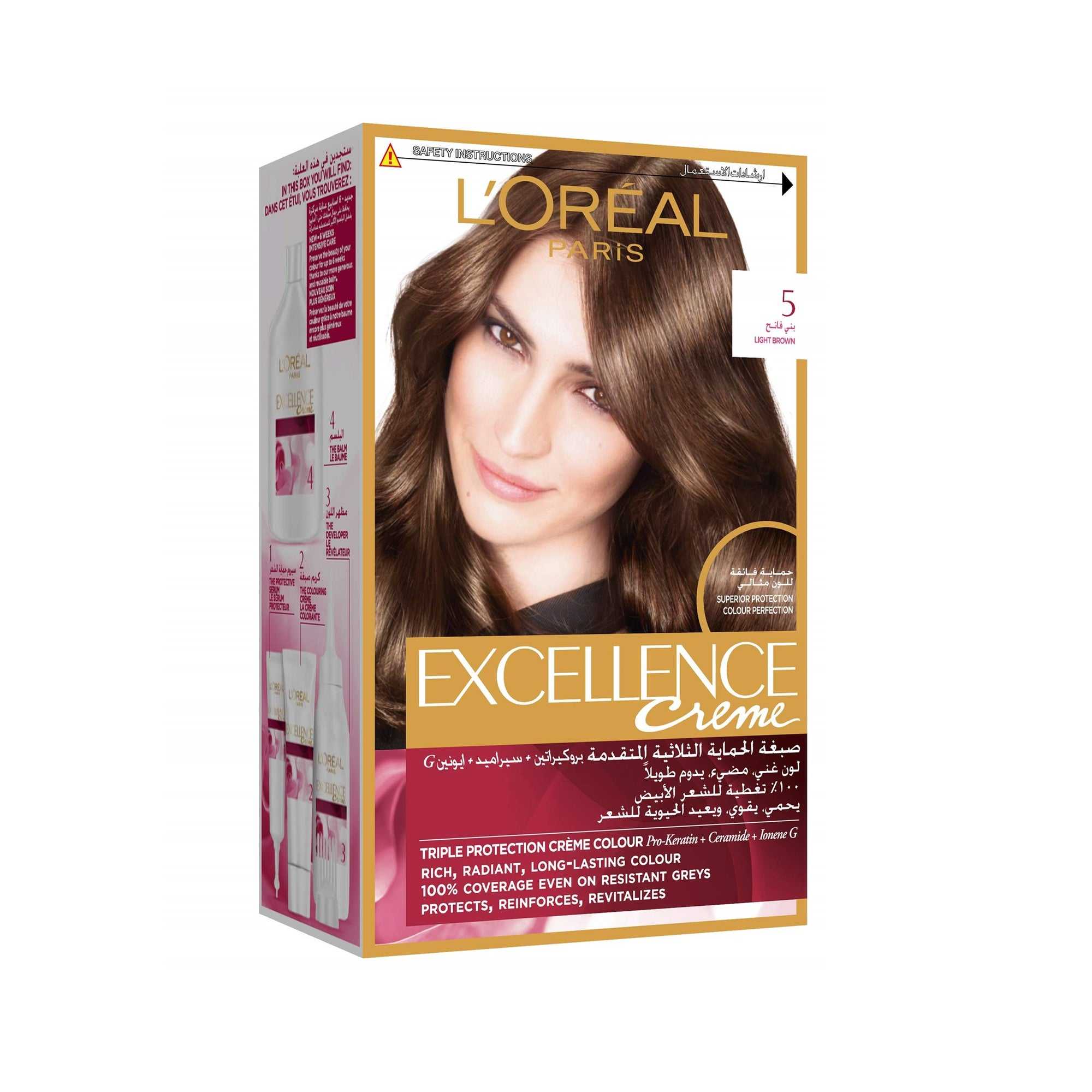 L'Oreal Hair Color #5 Brown