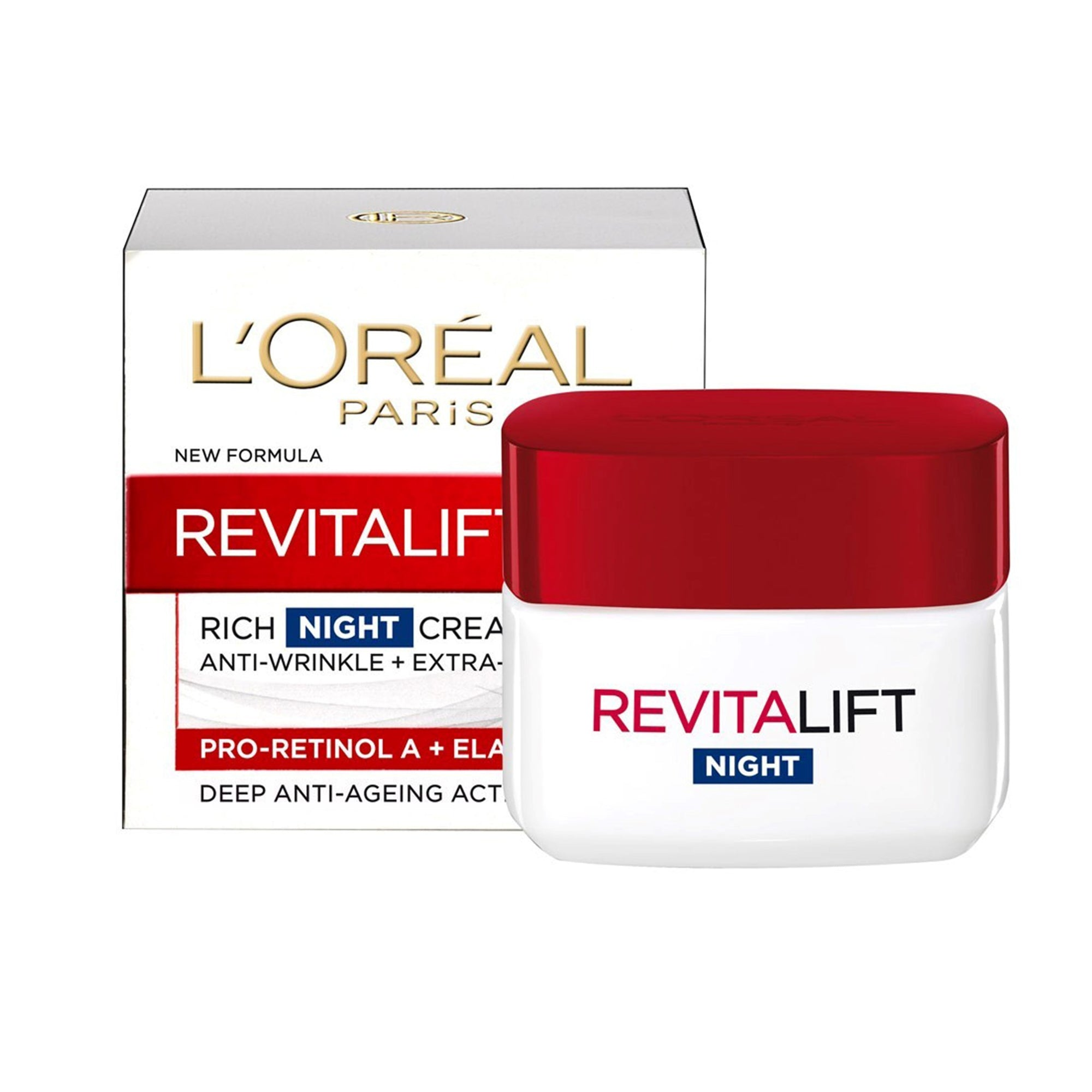 L'Oreal Revitalift Night Cream 50Ml