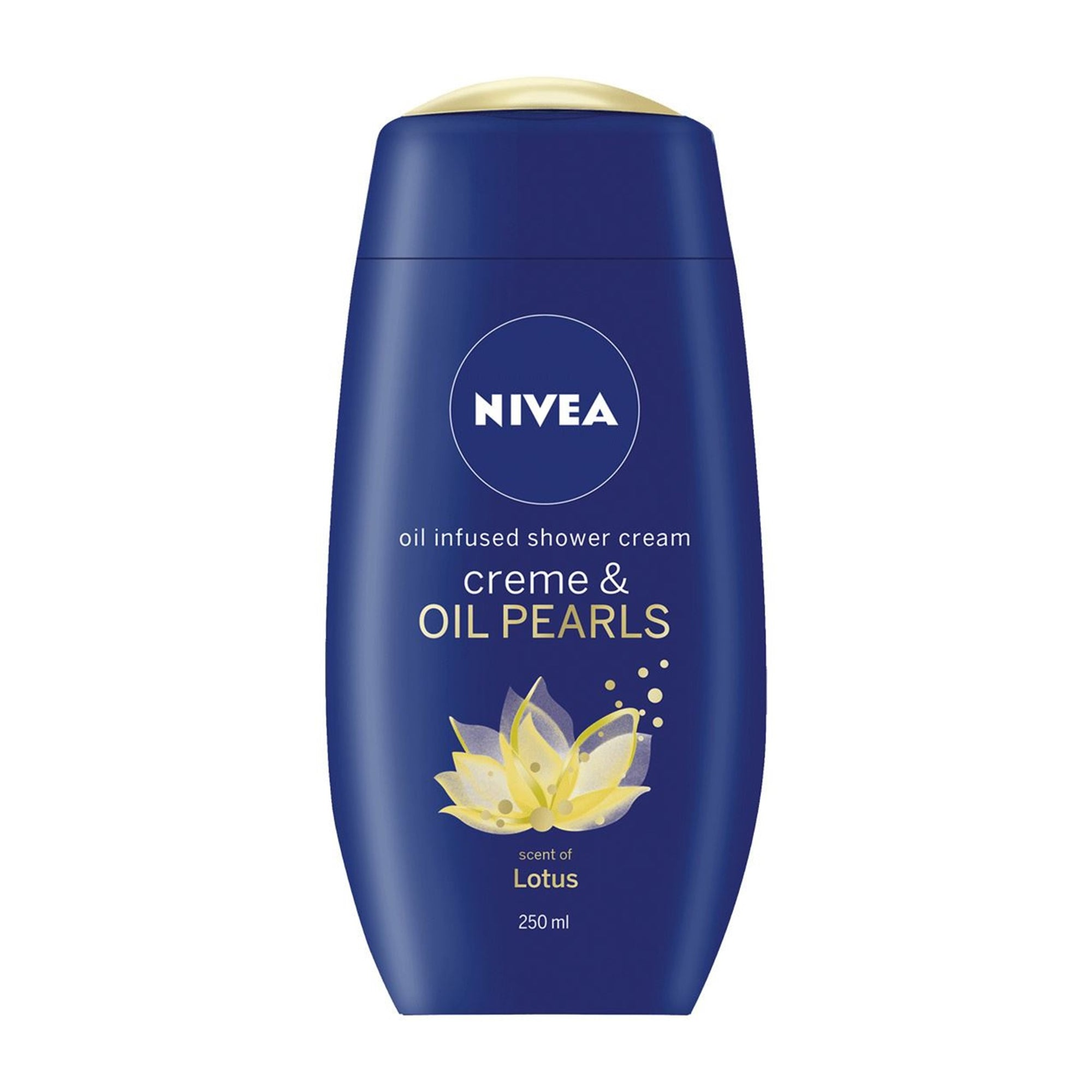 Nivea Oil Infused Shower Cream & Oil Pearls Lotus 250ml