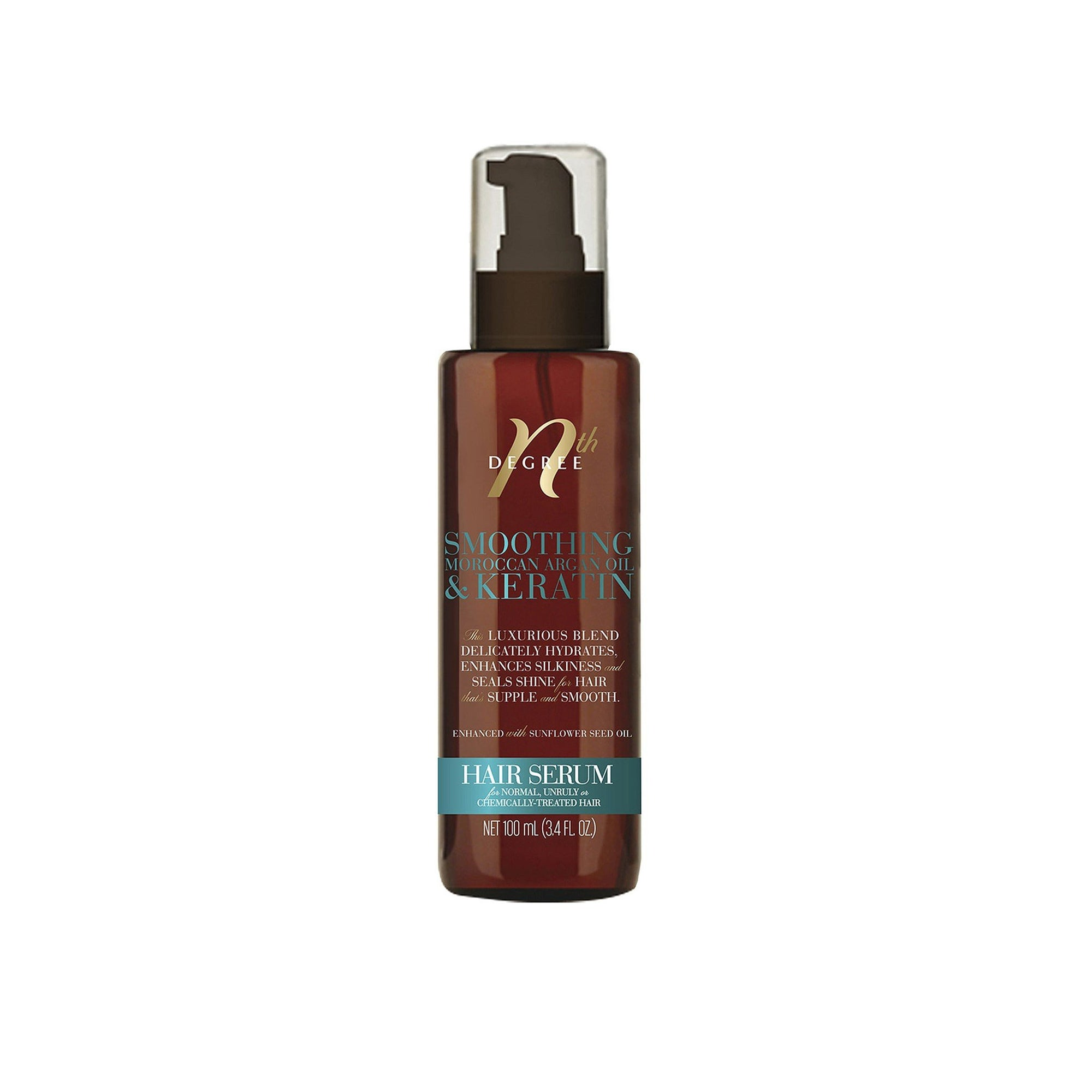 Nth Degree Argan Hair Serum Oil 100Ml