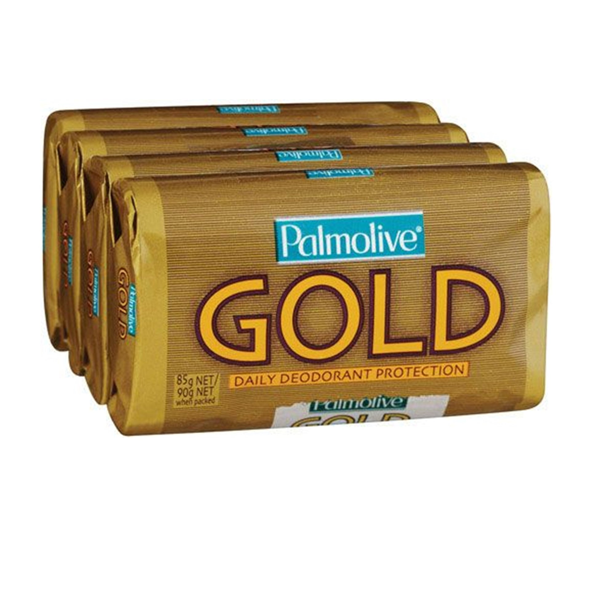 Palmolive Gold Soap Bars 4X 90G