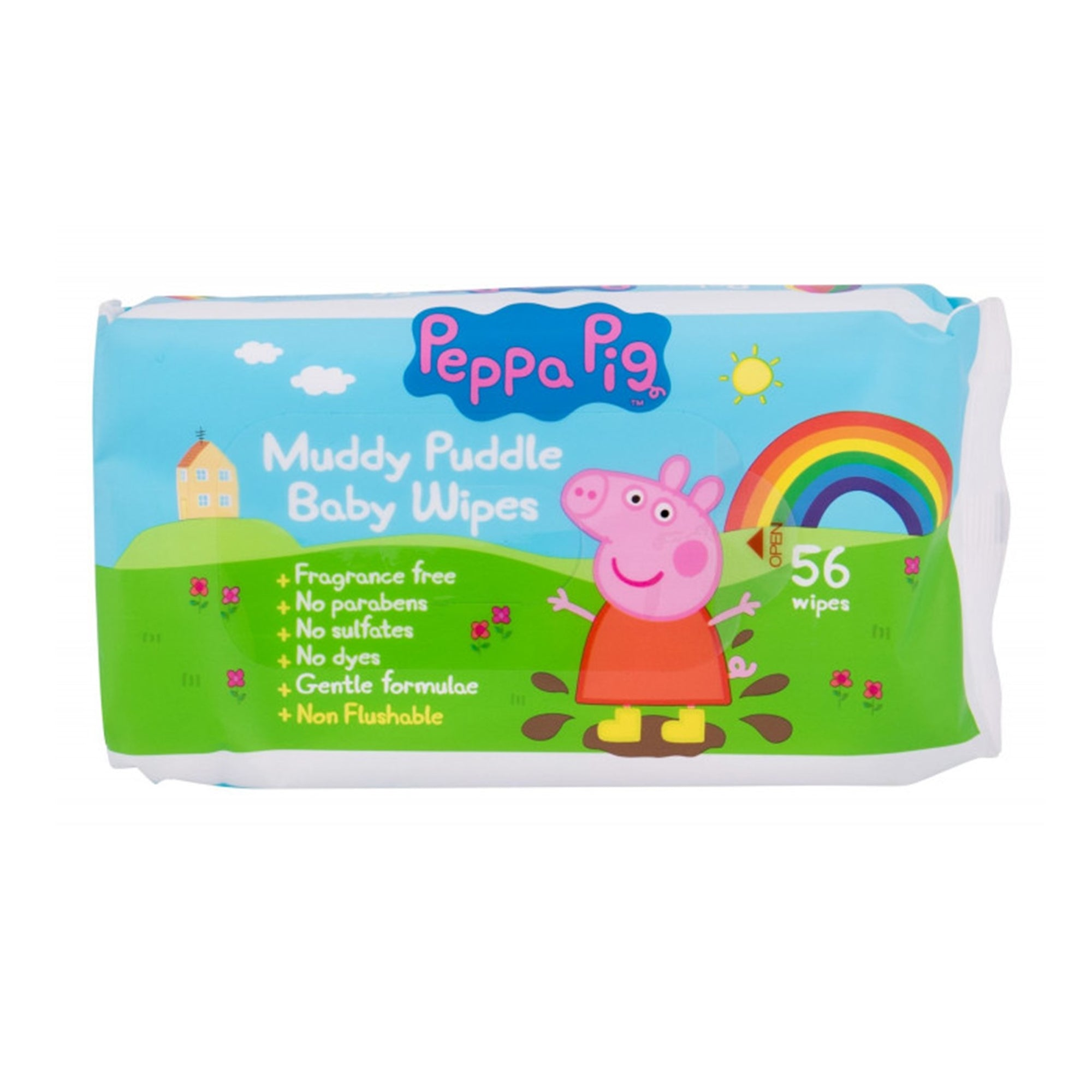 Peppa Pig Baby Wipes 56Pk