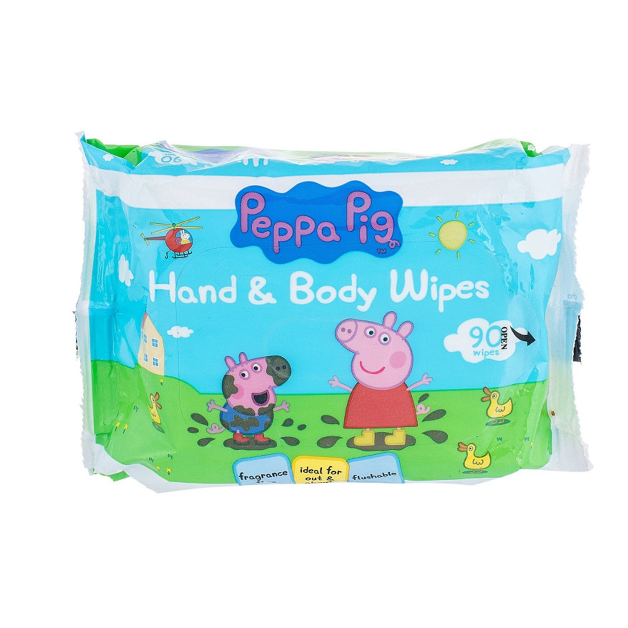 Peppa Pig Hand & Face Wipes 90Pk