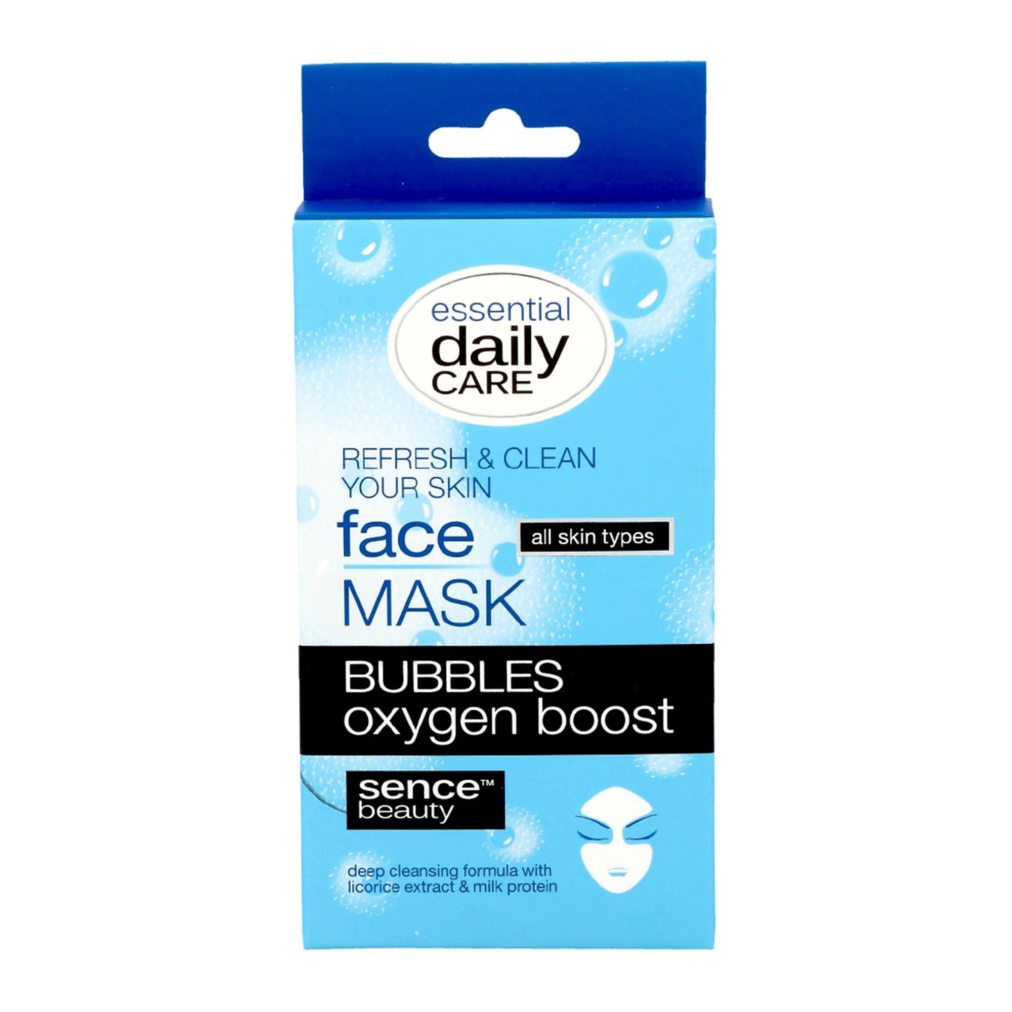 Sencebeauty Facial Bubble Mask 3Pk