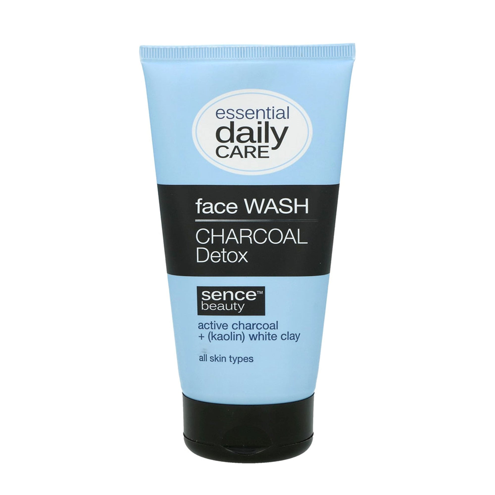 Sencebeauty Charcoal Face Wash 150Ml