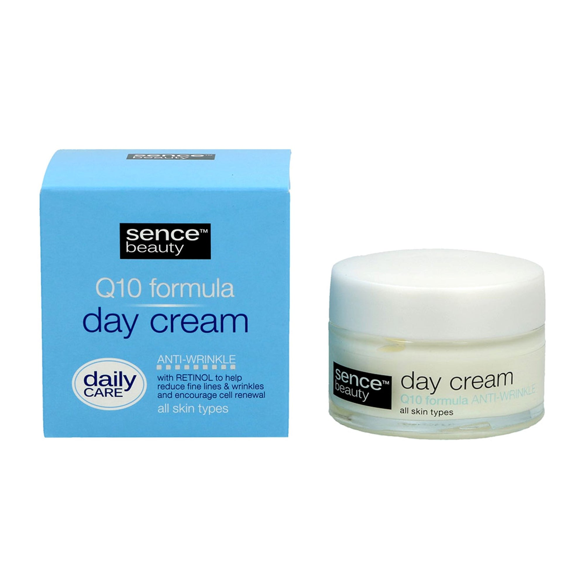 Sencebeauty Q10 Day Cream All Skin Types 50Ml
