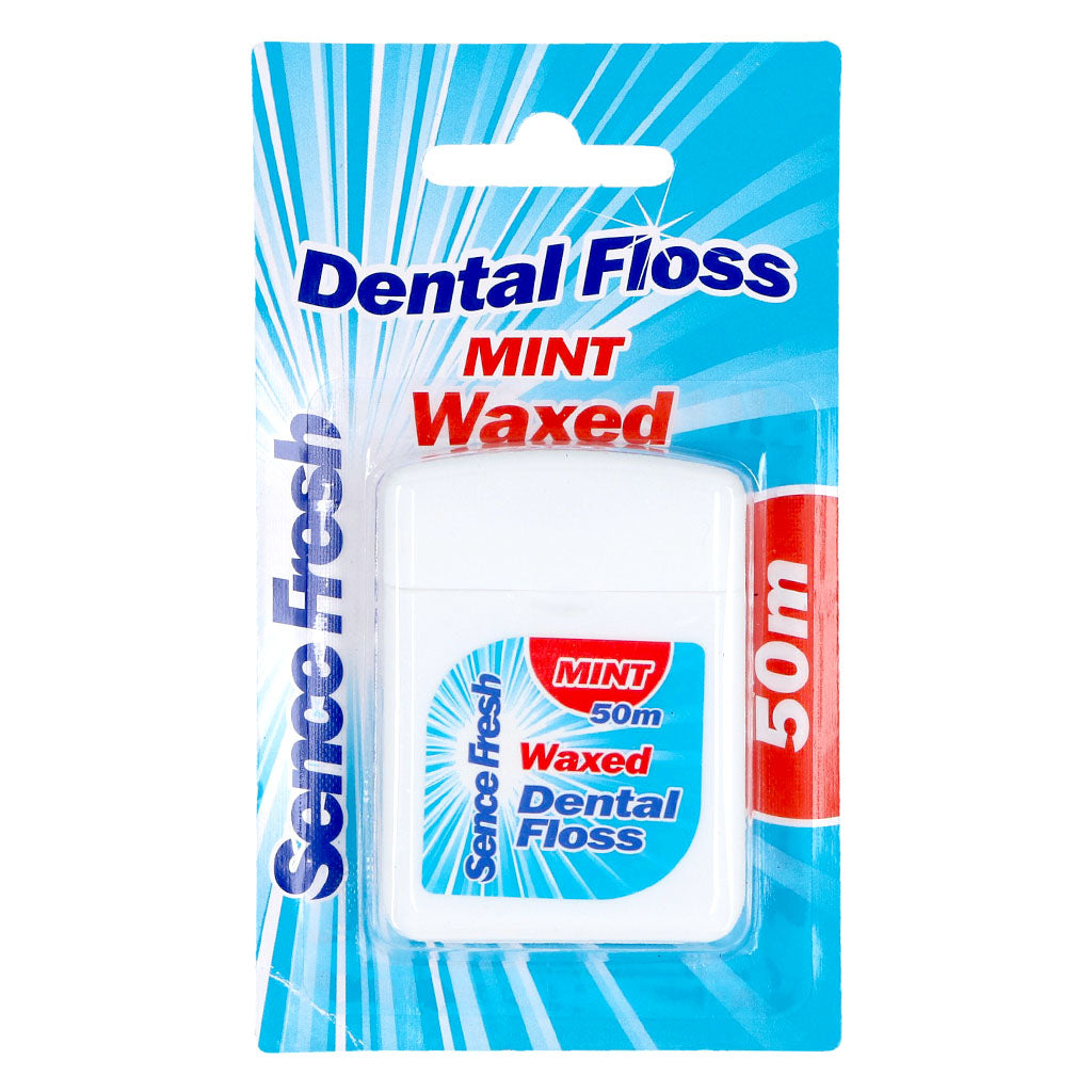 Sencefresh Waxed Floss Mint 50M