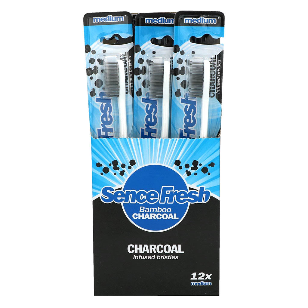 Sencefresh Toothbrush Bamboo Charcoal
