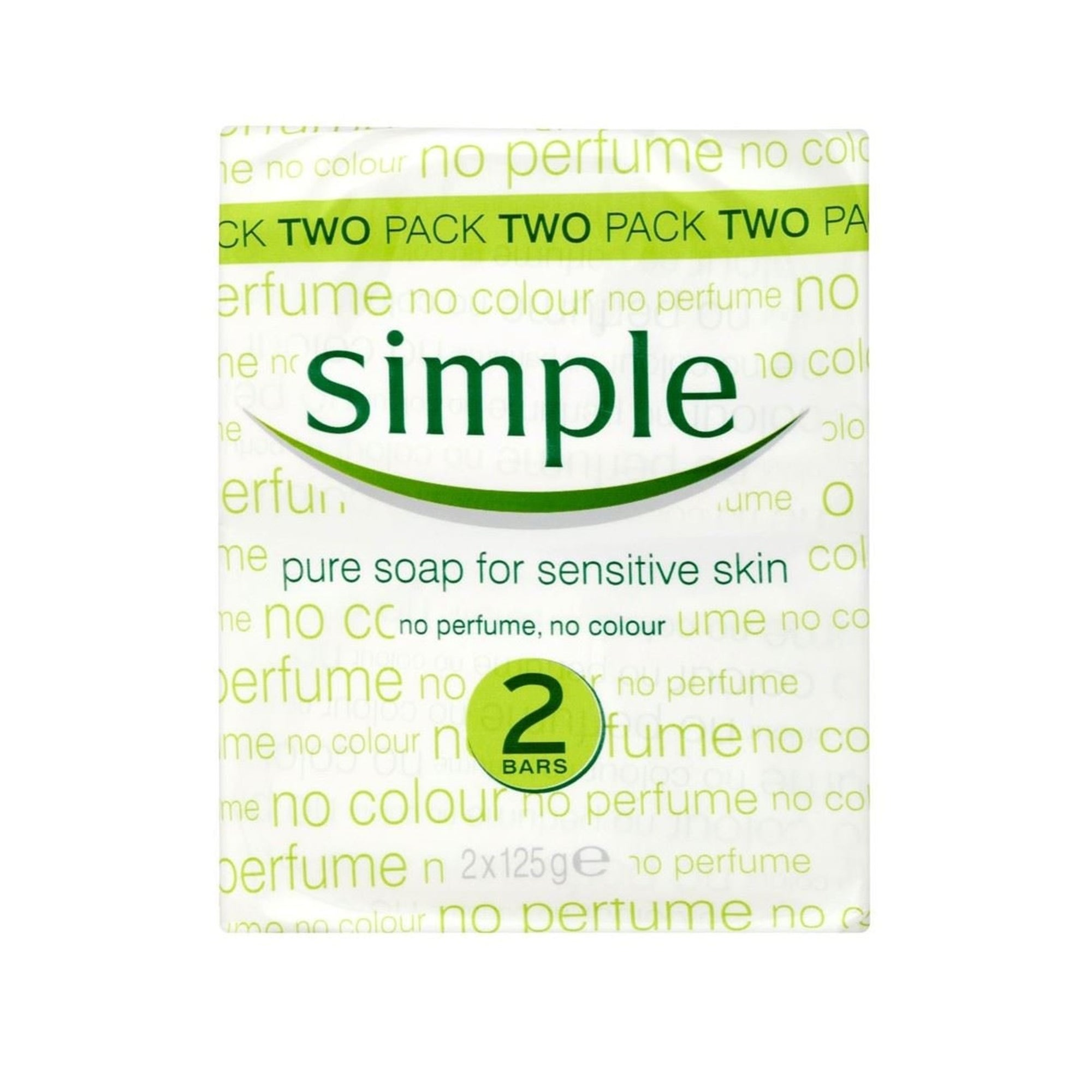 Simple Soap Twin Pack 2 X 125G