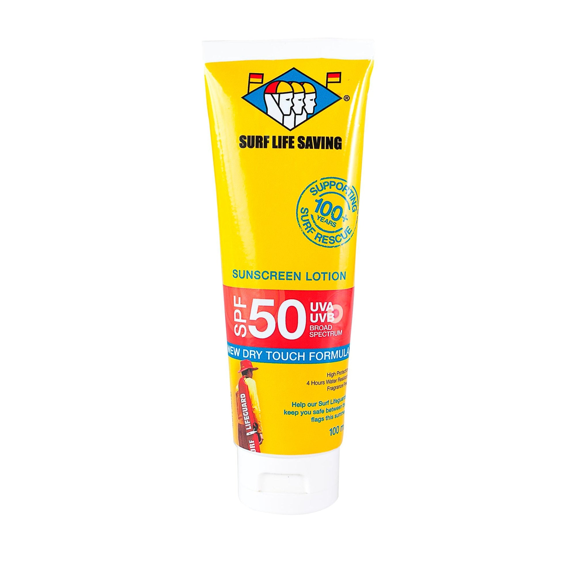 Surf Life Saving Nz Spf50 Sunscreen 100Ml
