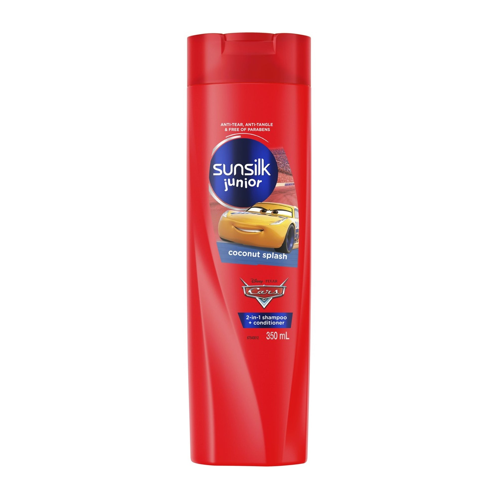 Sunsilk Junior Shampoo & Conditioner 2In1 Cars 350Ml