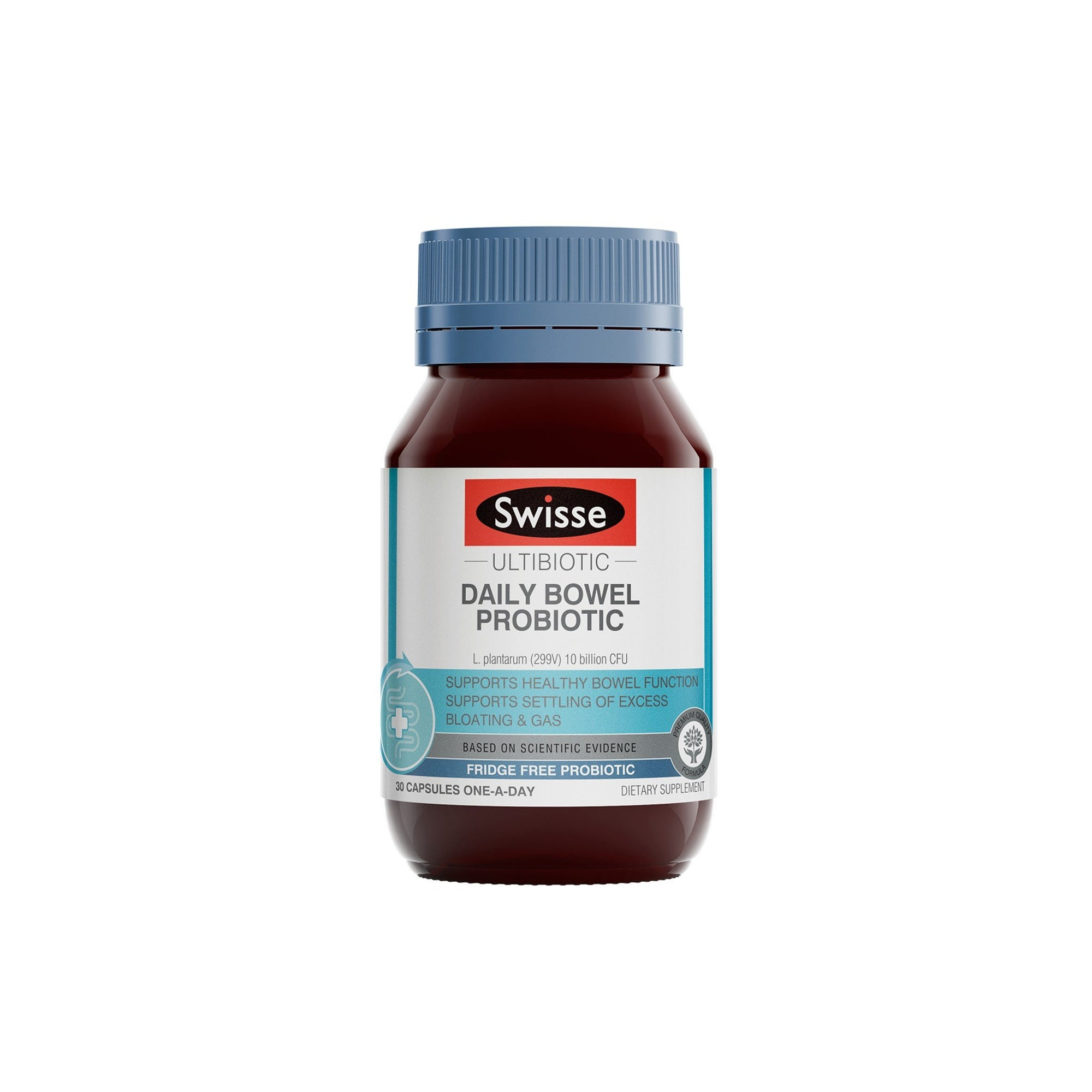 Swisse Ultibiotic Daily Bowel Probiotic 30 Capsules