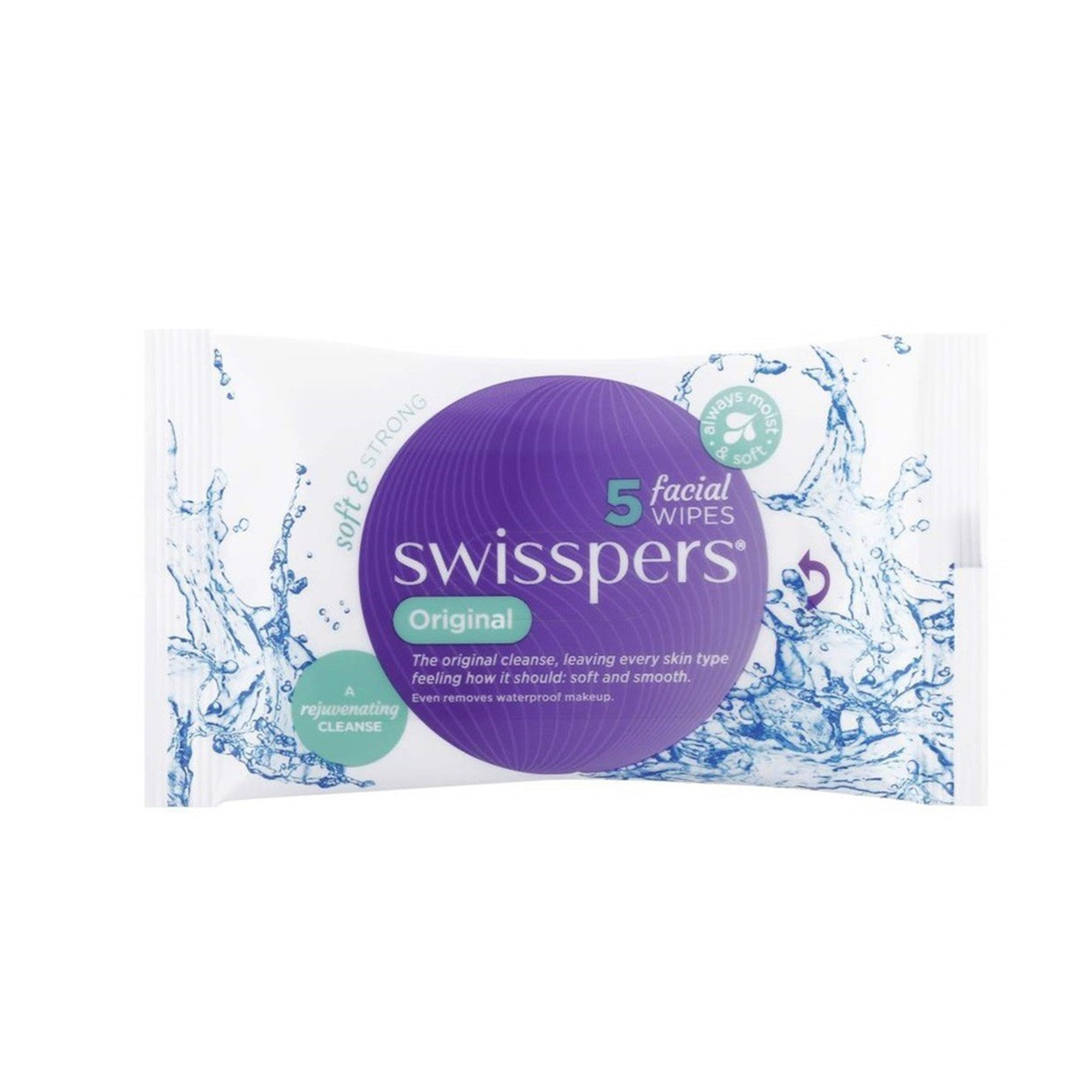 Swisspers Face Wipes Original 5Pk