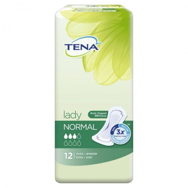 Tena Lady Incontinence Pads Normal 12Pk